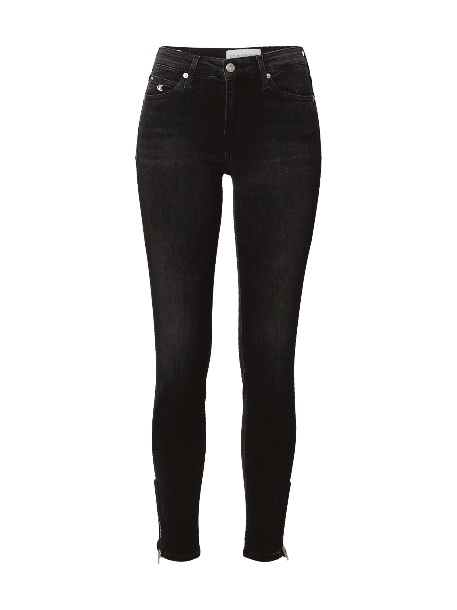 Calvin Klein Jeans Džíny  černá džínovina