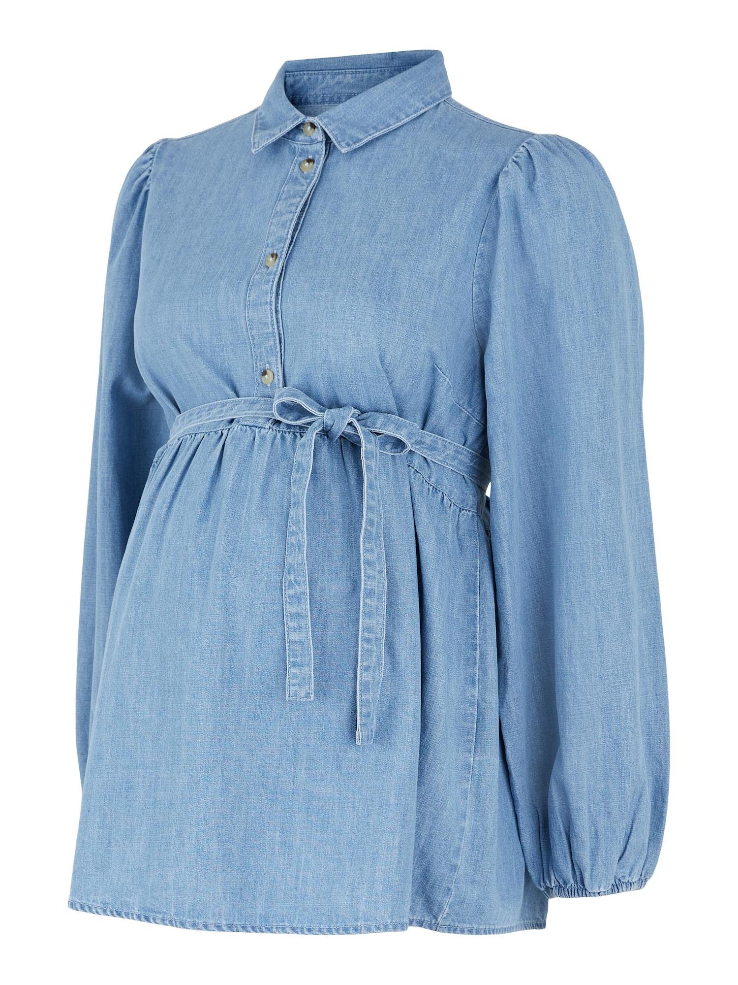 MAMALICIOUS Palaidinė tamsiai (džinso) mėlyna