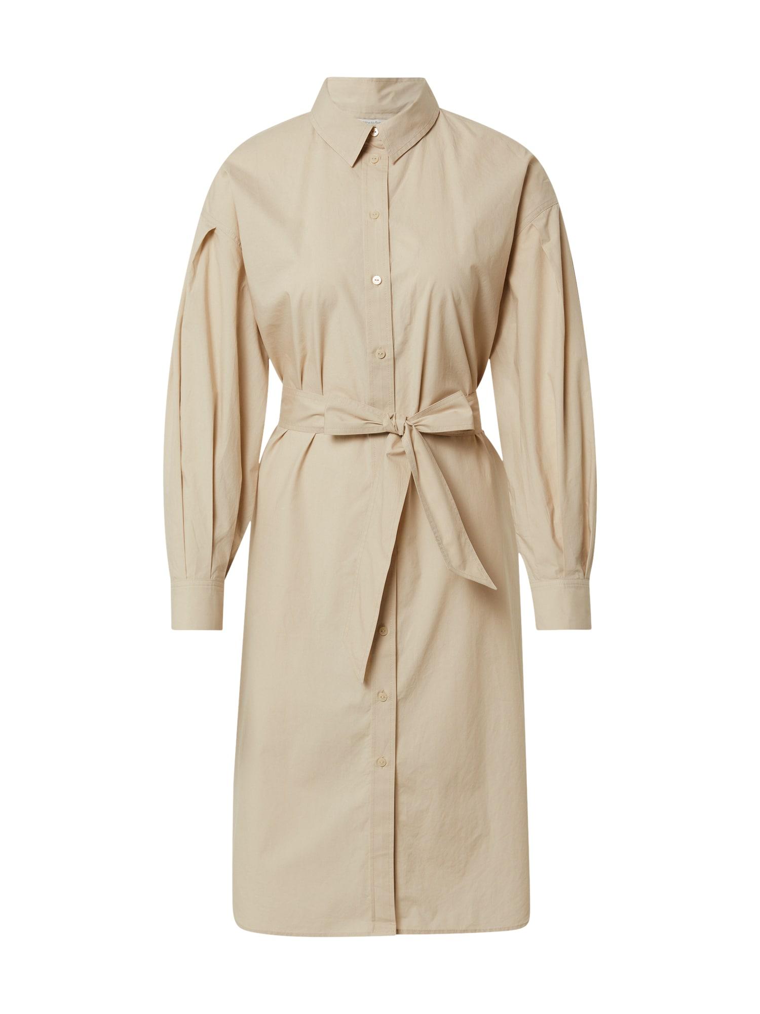 MINE TO FIVE Palaidinės tipo suknelė smėlio spalva
