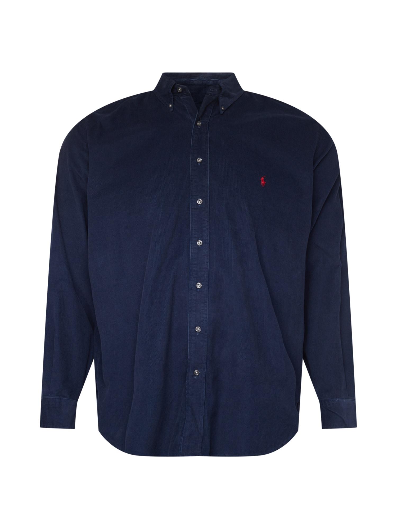 Polo Ralph Lauren Big & Tall Marškiniai tamsiai mėlyna