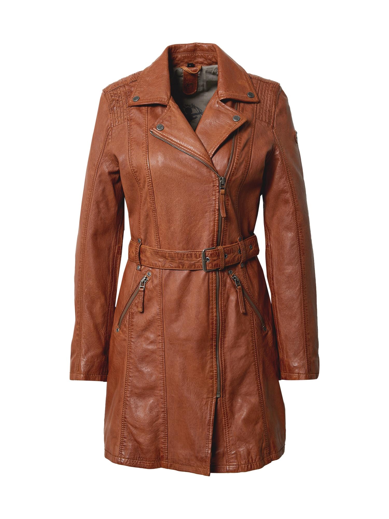 Gipsy Demisezoninis paltas ruda (konjako)
