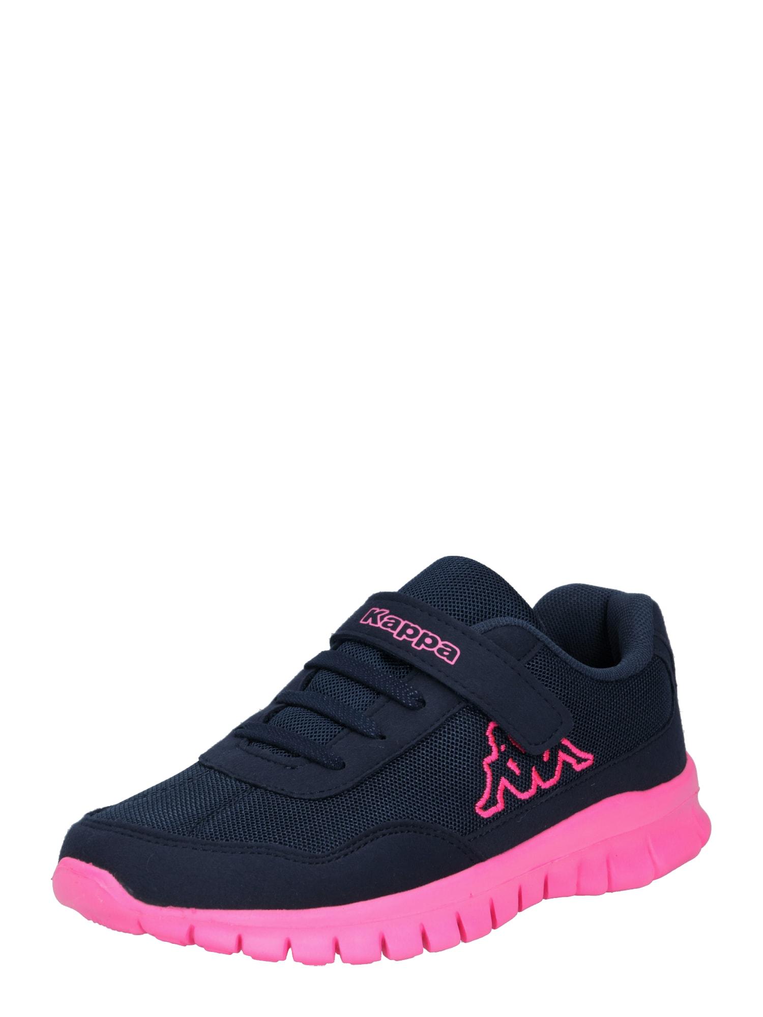KAPPA Tenisky  tmavě modrá / pink