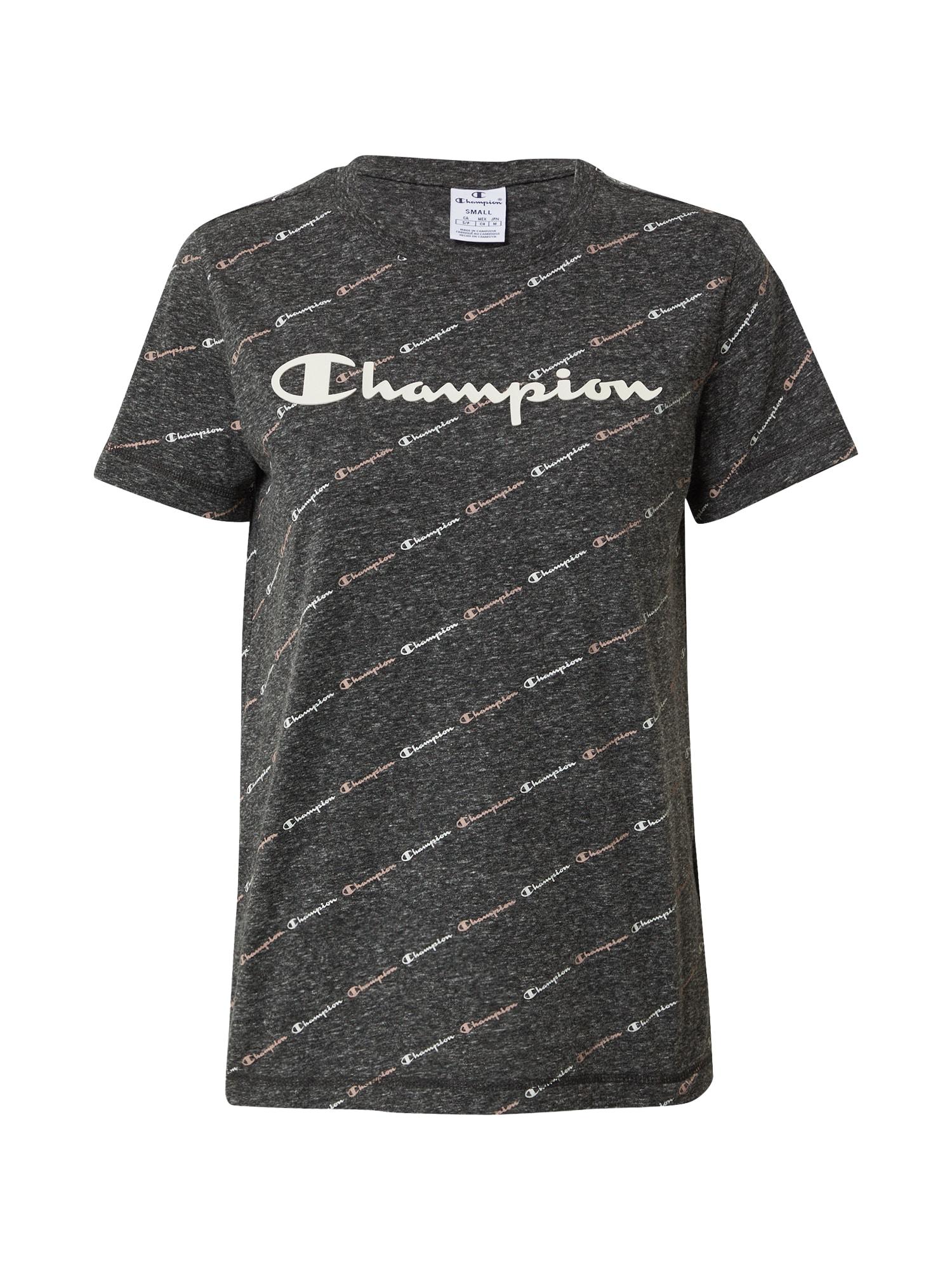 Champion Authentic Athletic Apparel Tričko  tmavě šedá