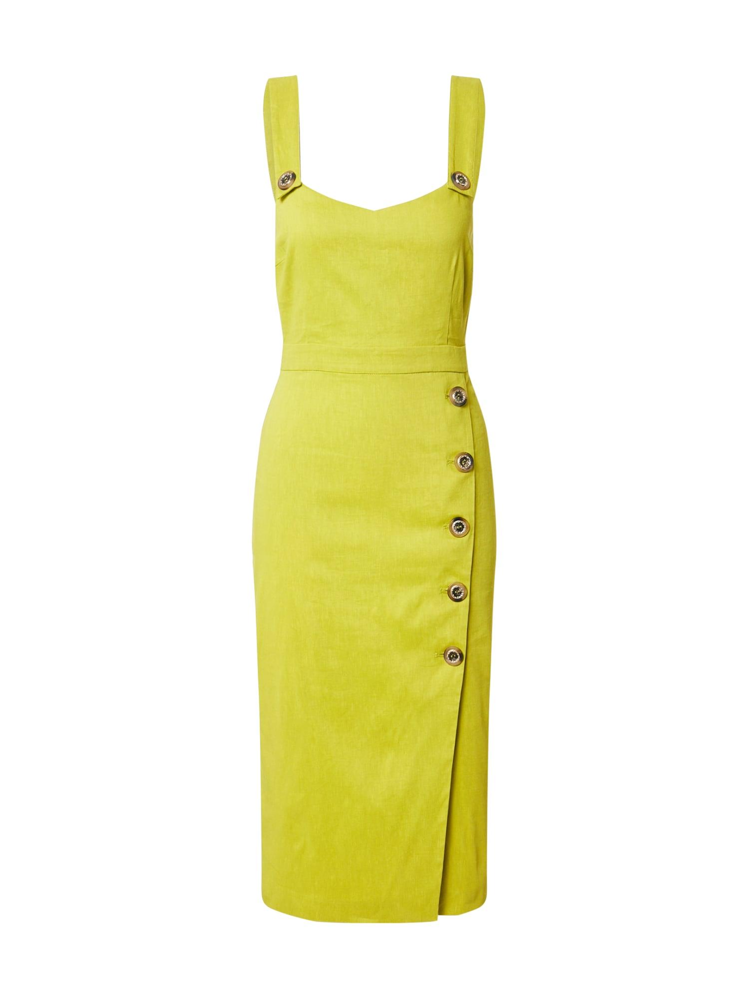 PINKO Suknelė žalia