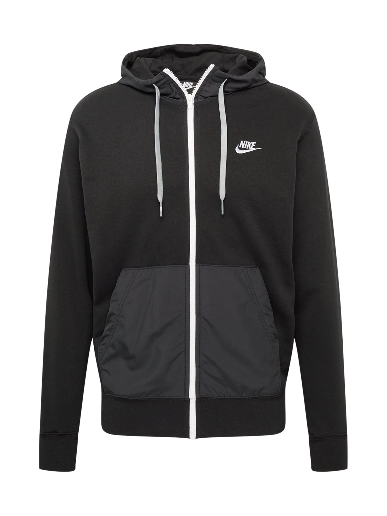 Nike Sportswear Džemperis tamsiai pilka / juoda