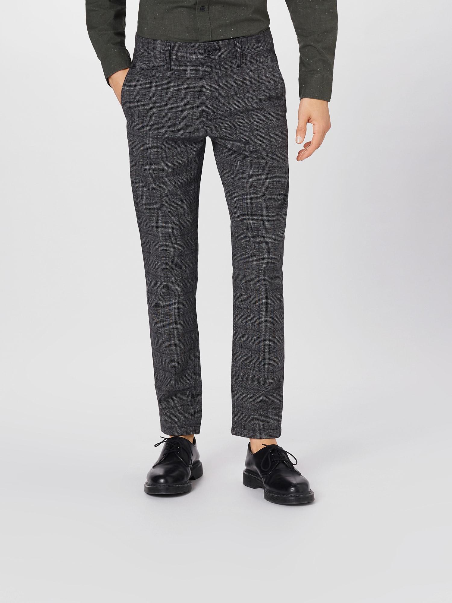 BOSS Chino kalhoty 'Taber-B'  šedá