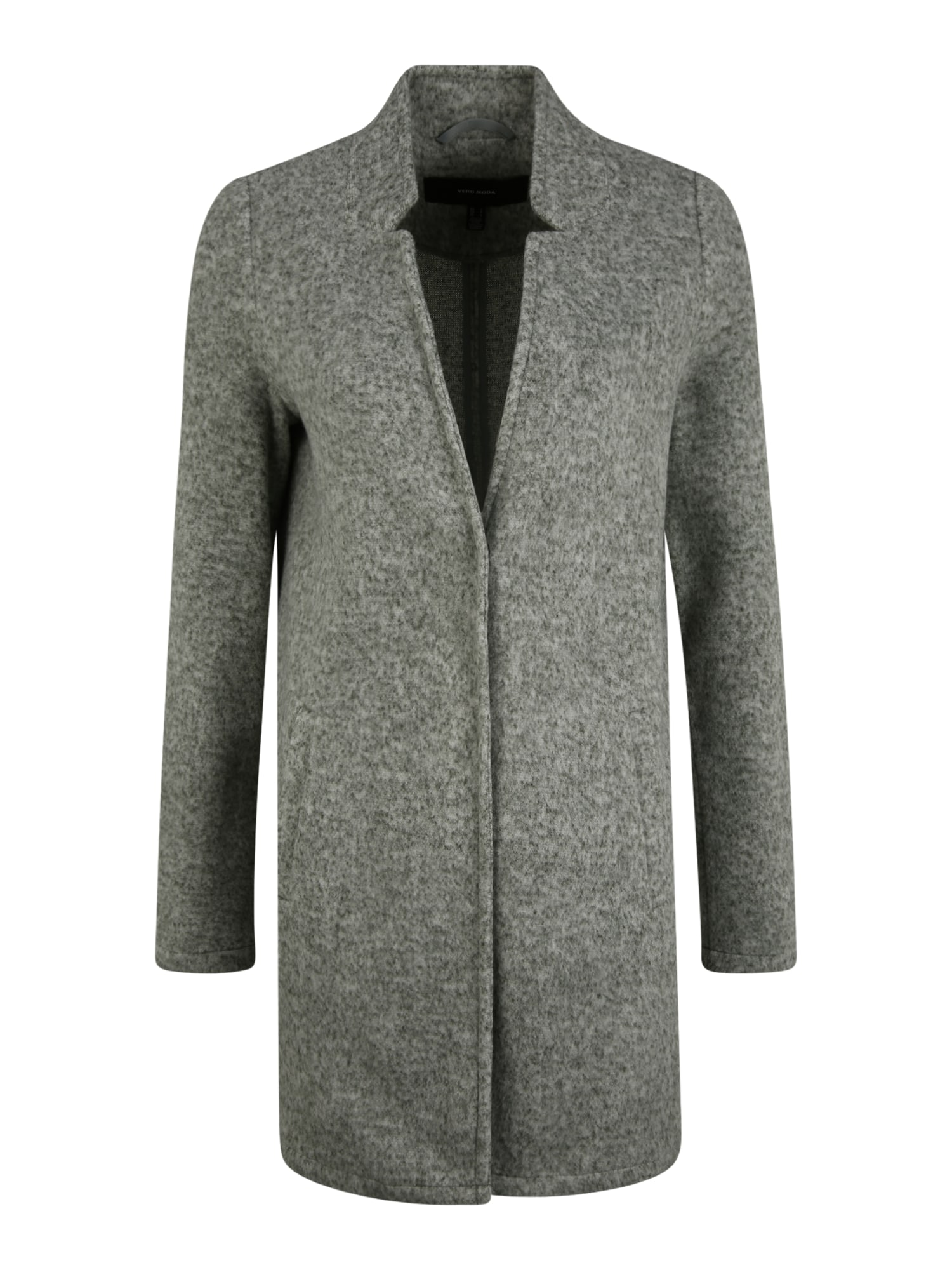 Vero Moda Tall Přechodný kabát 'Brushed Katrine'  šedý melír