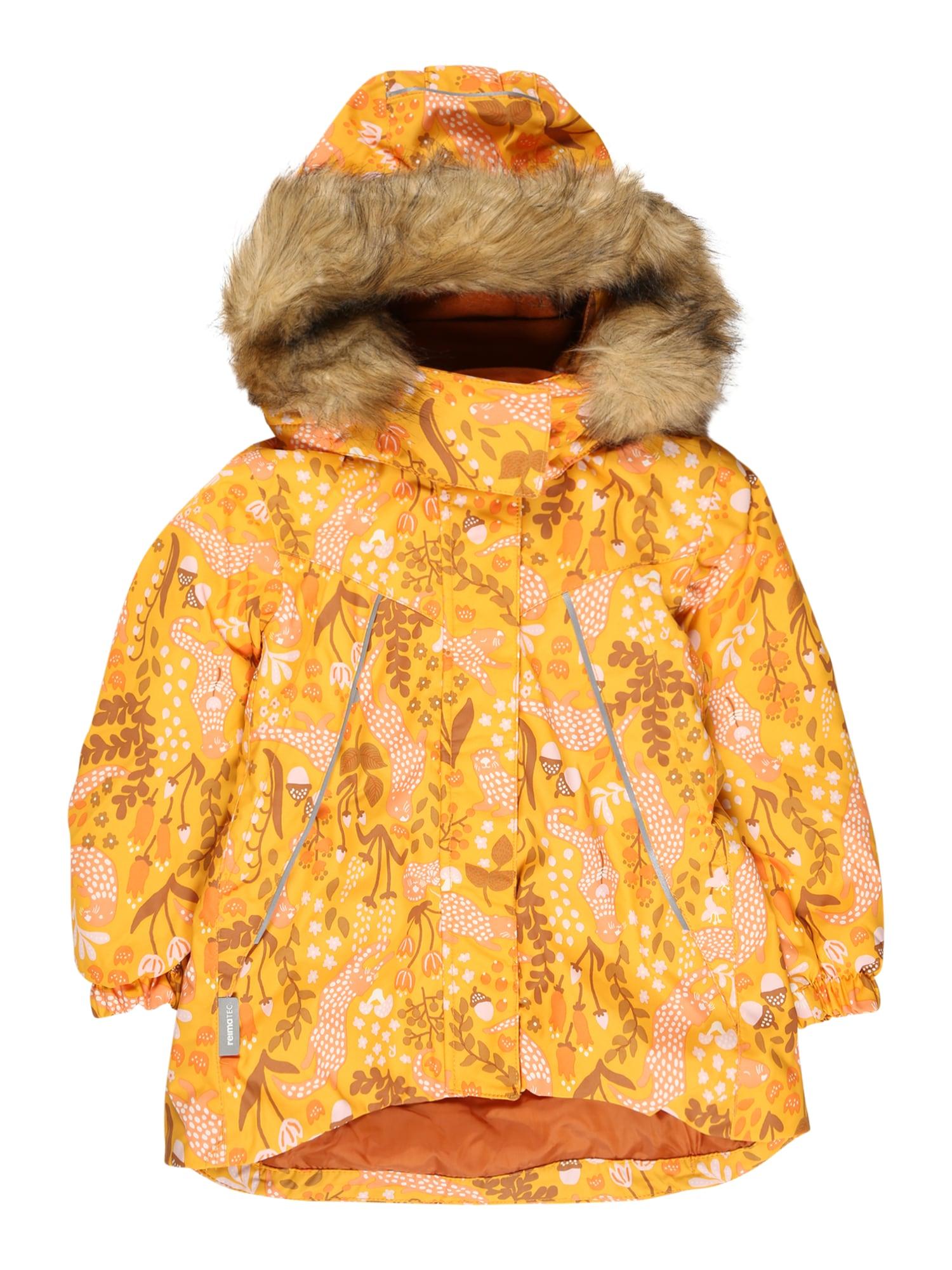 Reima Zimní bunda 'Muhvi'  oranžová / mix barev