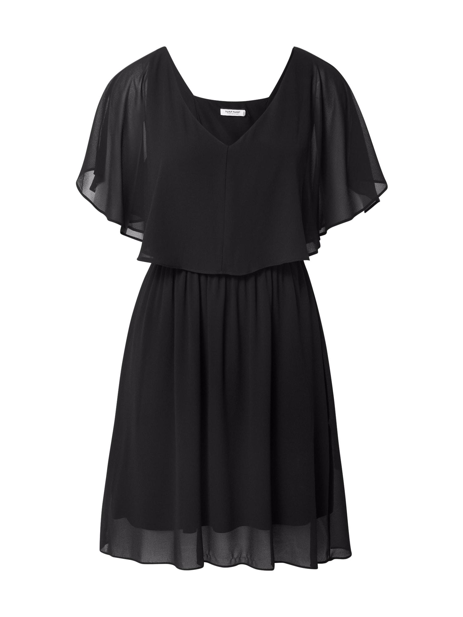 NAF NAF Suknelė juoda