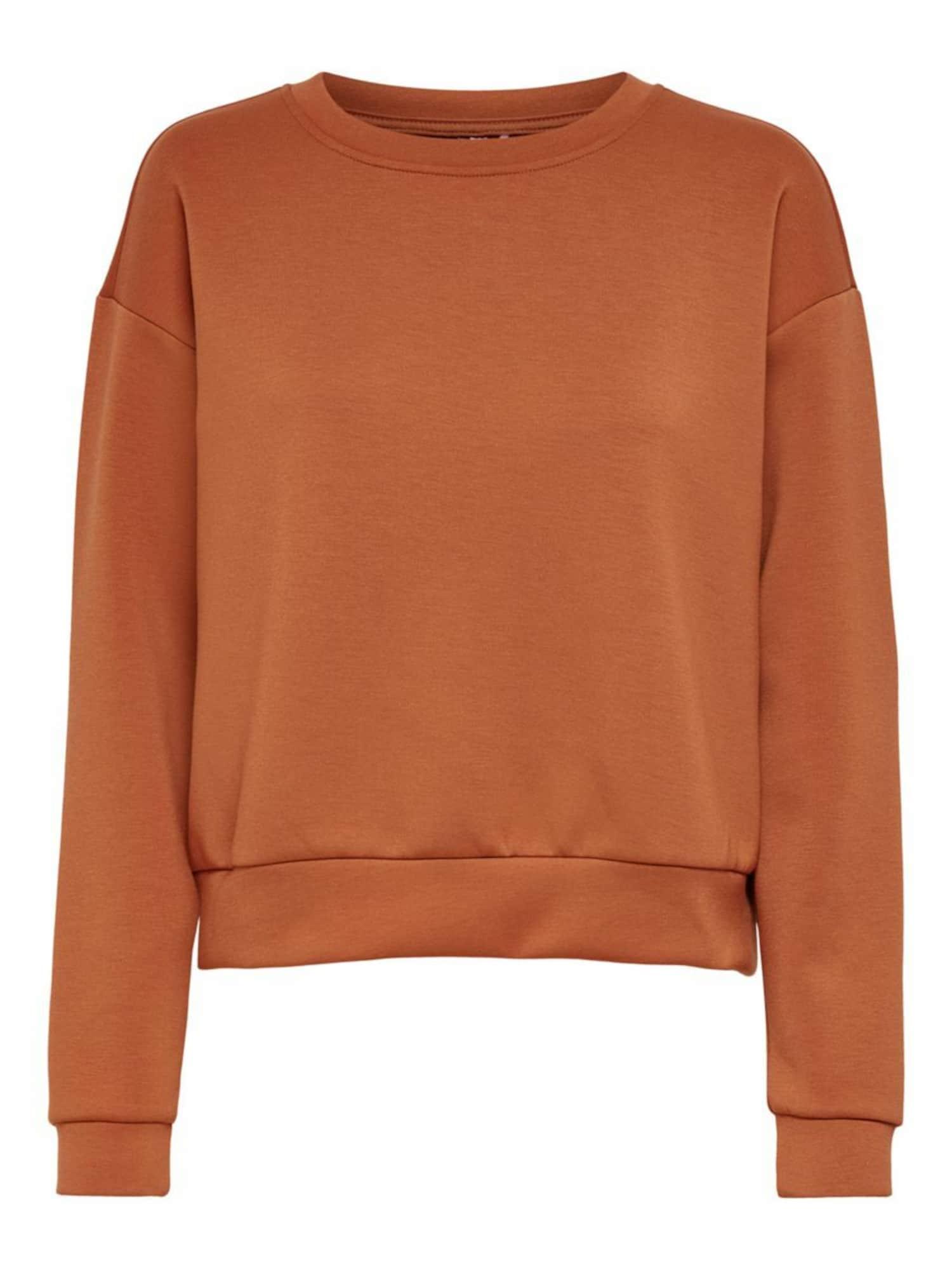 ONLY PLAY Megztinis be užsegimo tamsiai oranžinė