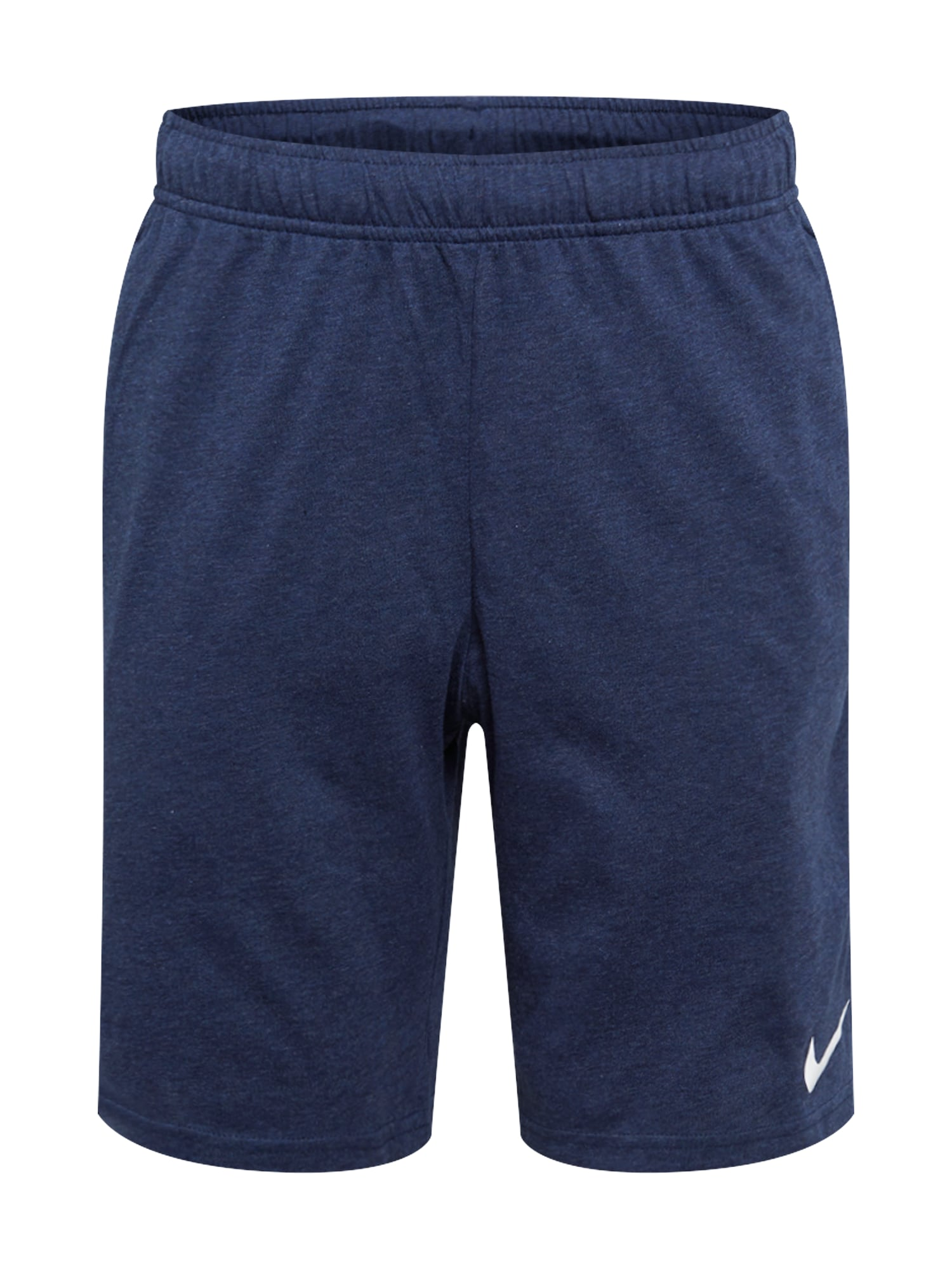 NIKE Sportinės kelnės balta / tamsiai mėlyna