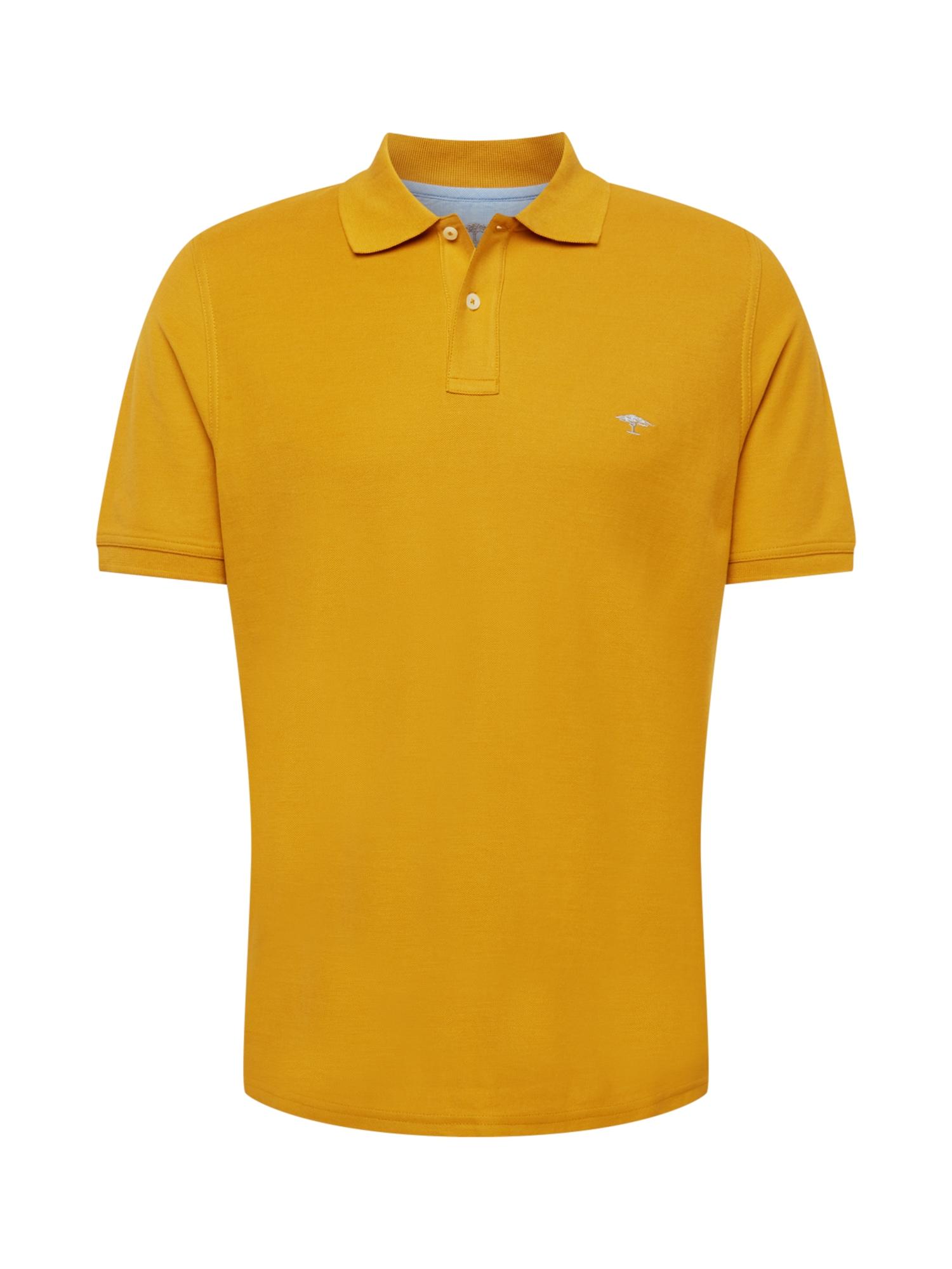 FYNCH-HATTON Marškinėliai aukso geltonumo spalva