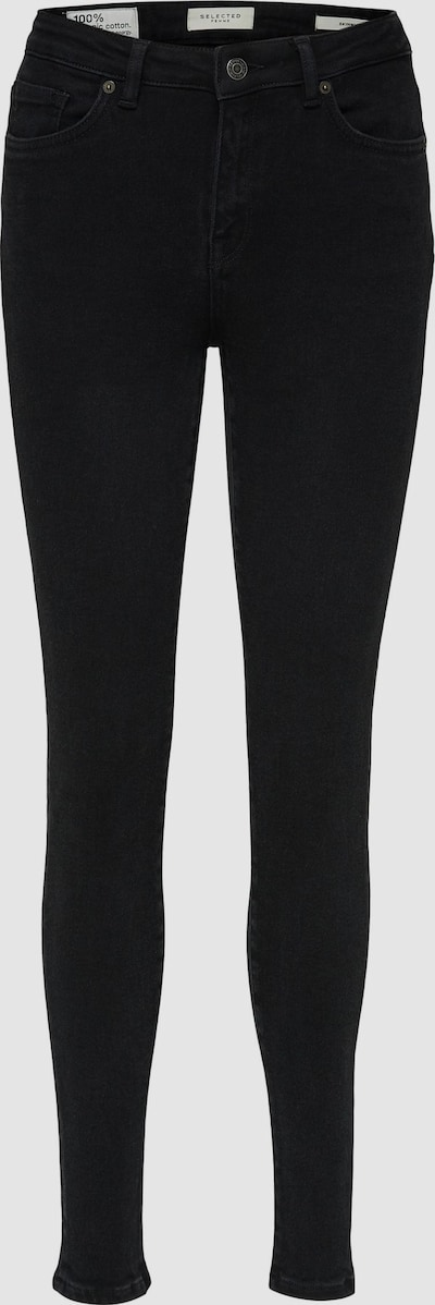 Selected Femme Curve Tia Mid Rise Skinny-Jeans