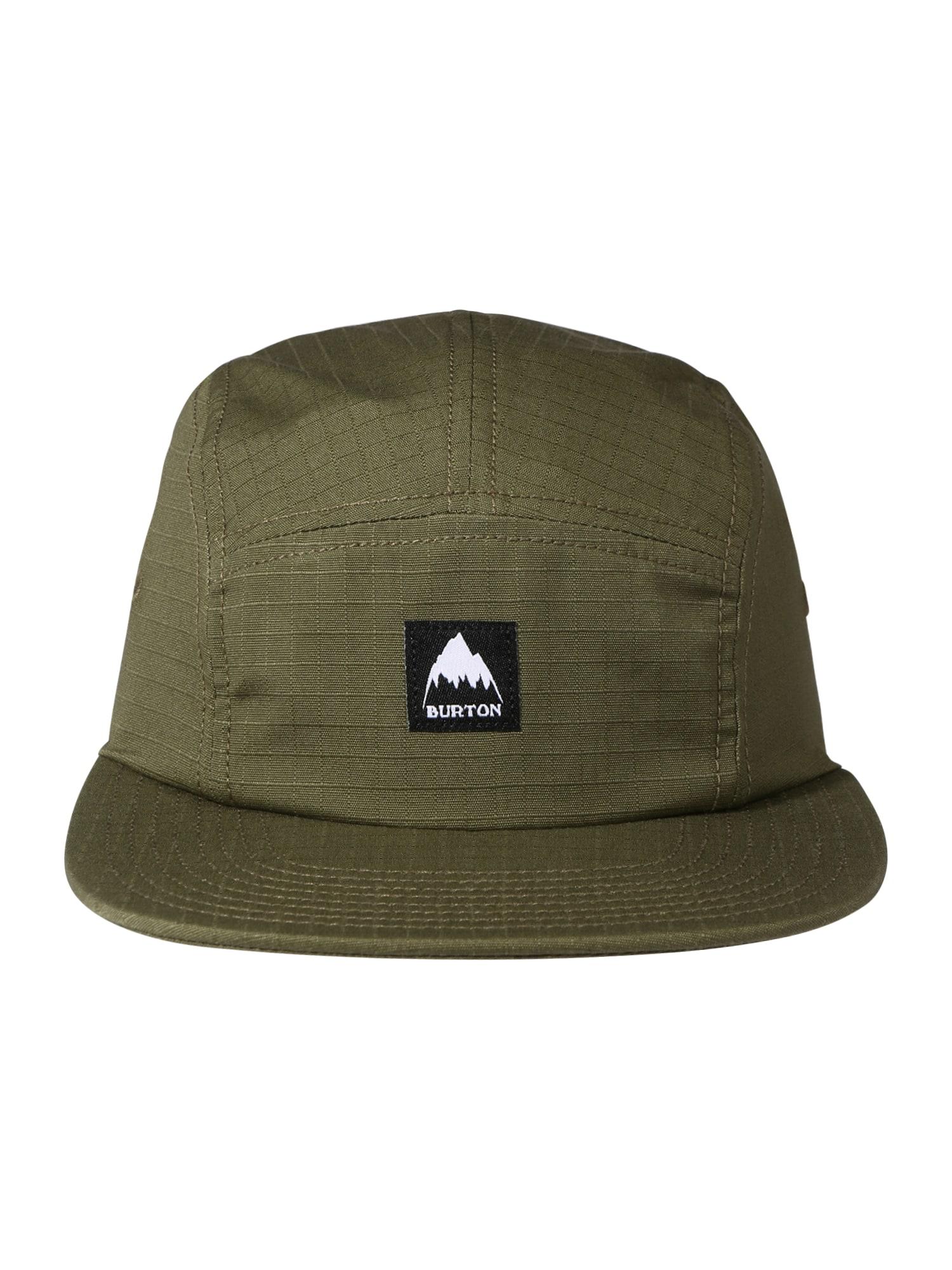 BURTON Sportinė kepurė žalia / juoda / balta