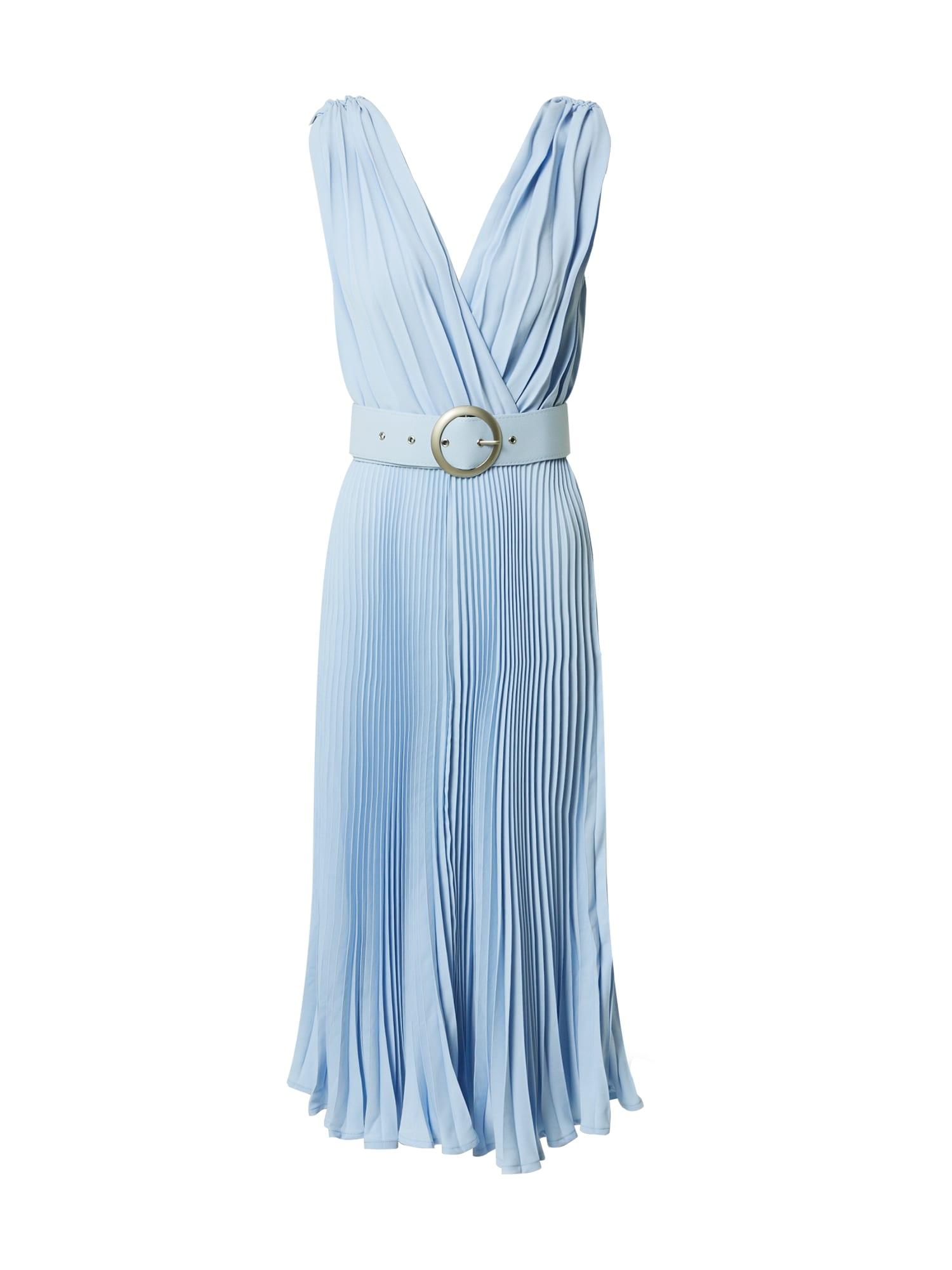 Forever Unique Kokteilinė suknelė šviesiai mėlyna
