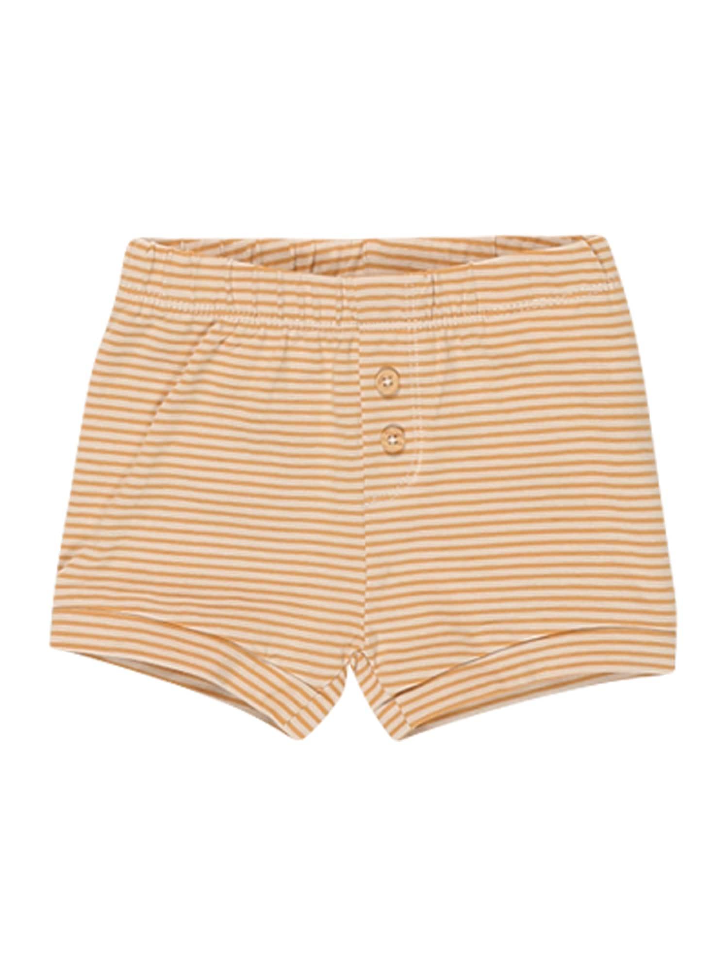 NAME IT Kelnės 'FIPAN' medaus spalva / šviesiai geltona