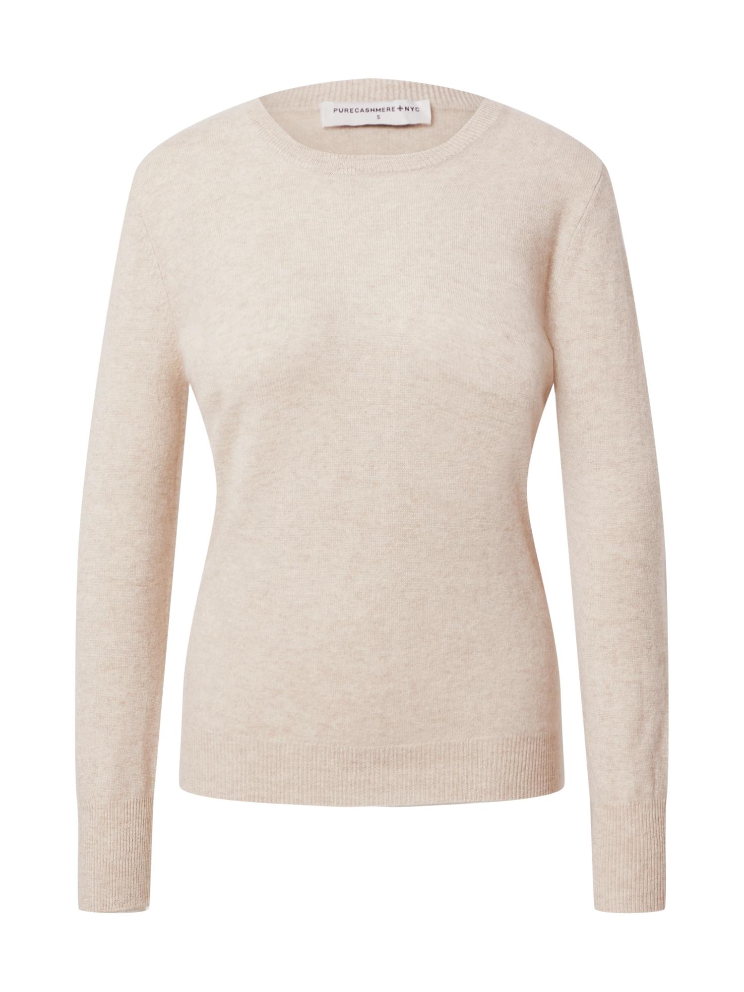 Pure Cashmere NYC Megztinis marga smėlio spalva