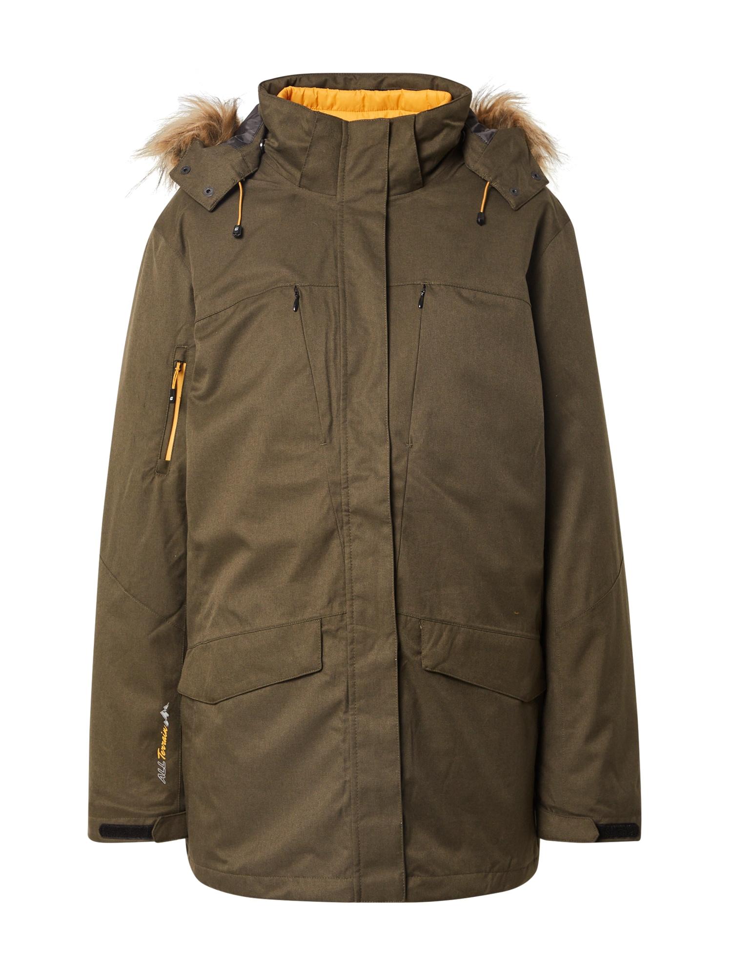 KILLTEC Zimní bunda 'Ostfold'  olivová