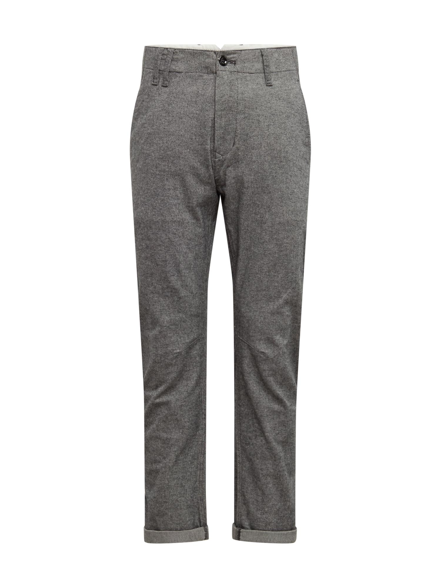 G-Star RAW Chino kalhoty 'Vetar'  antracitová