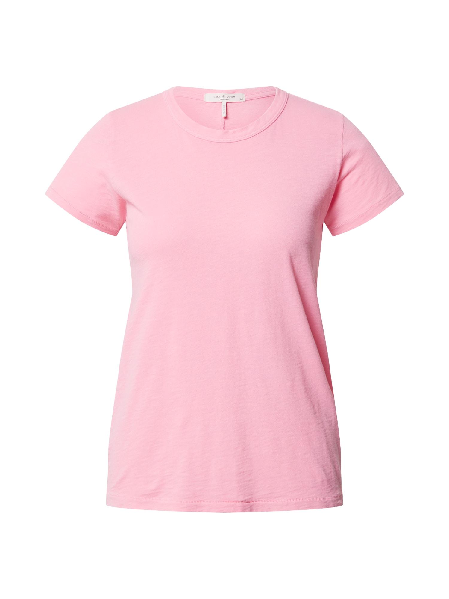 rag & bone Marškinėliai šviesiai rožinė