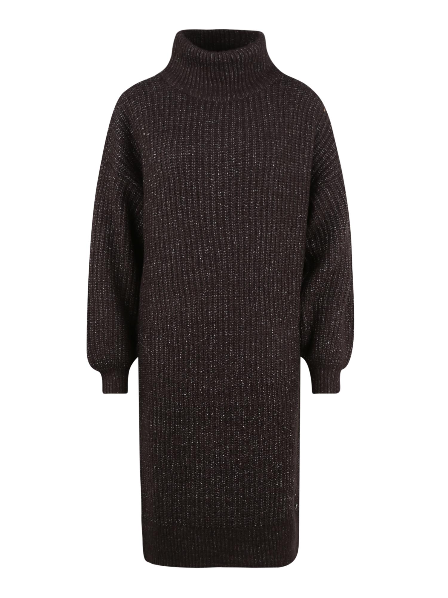 Noisy May (Tall) Šaty 'Robina'  tmavě šedá