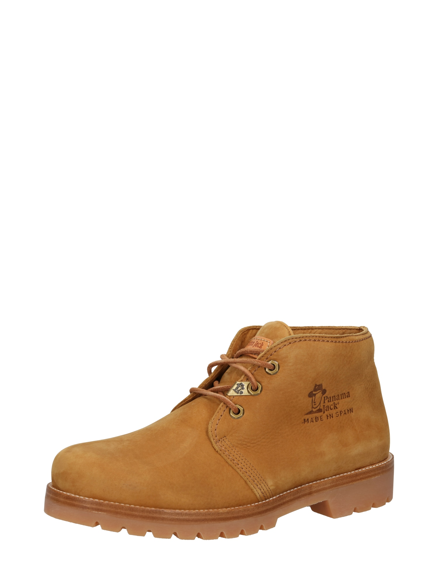 PANAMA JACK Auliniai batai su raišteliais rusvai oranžinė
