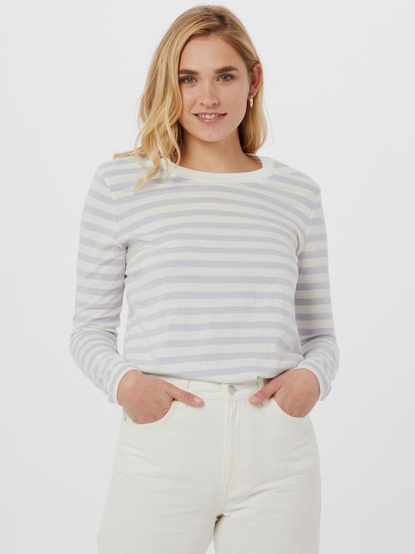 Selected Femme Standard Stripe Langarm-Top
