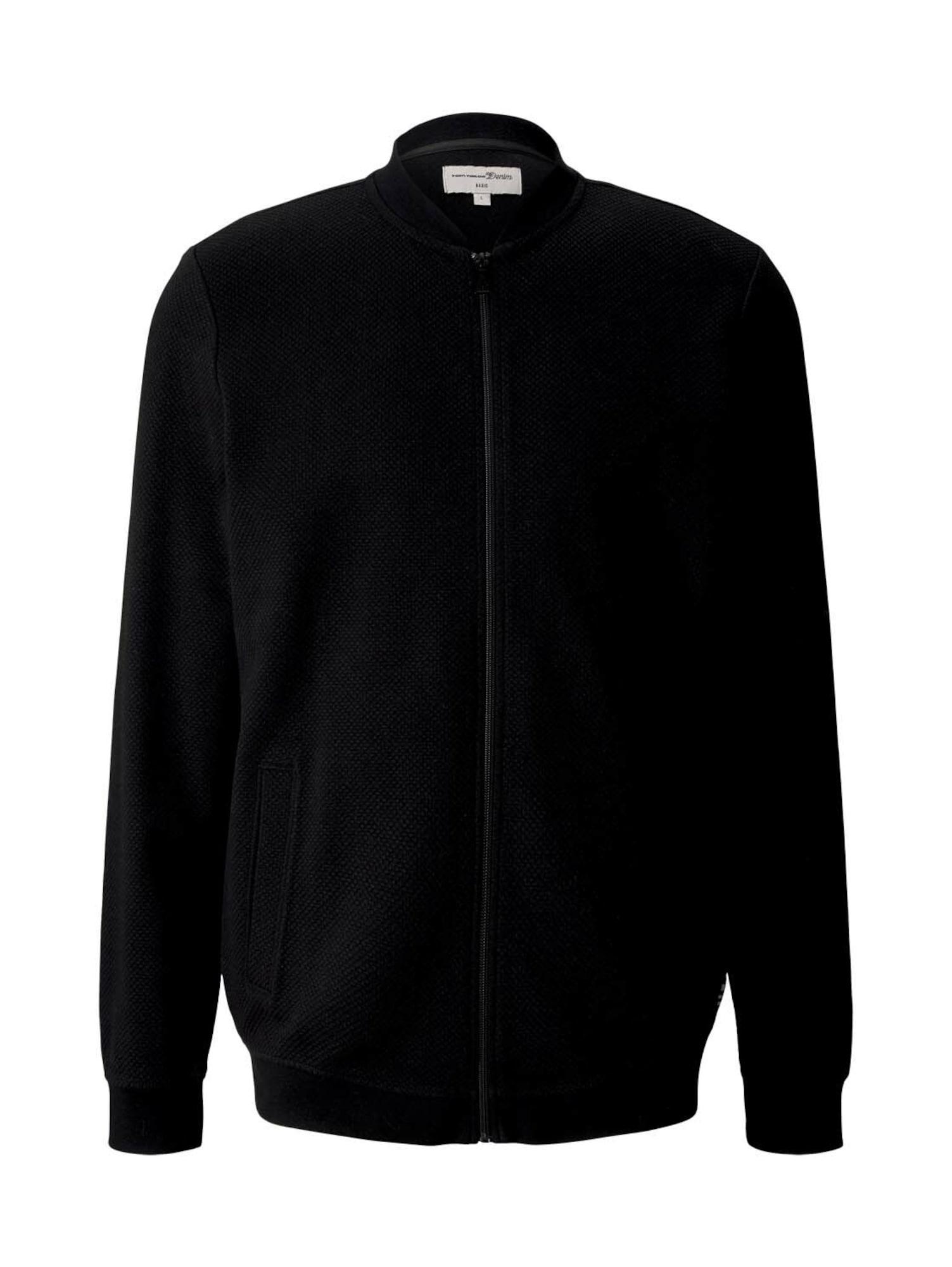 TOM TAILOR DENIM Džemperis juoda