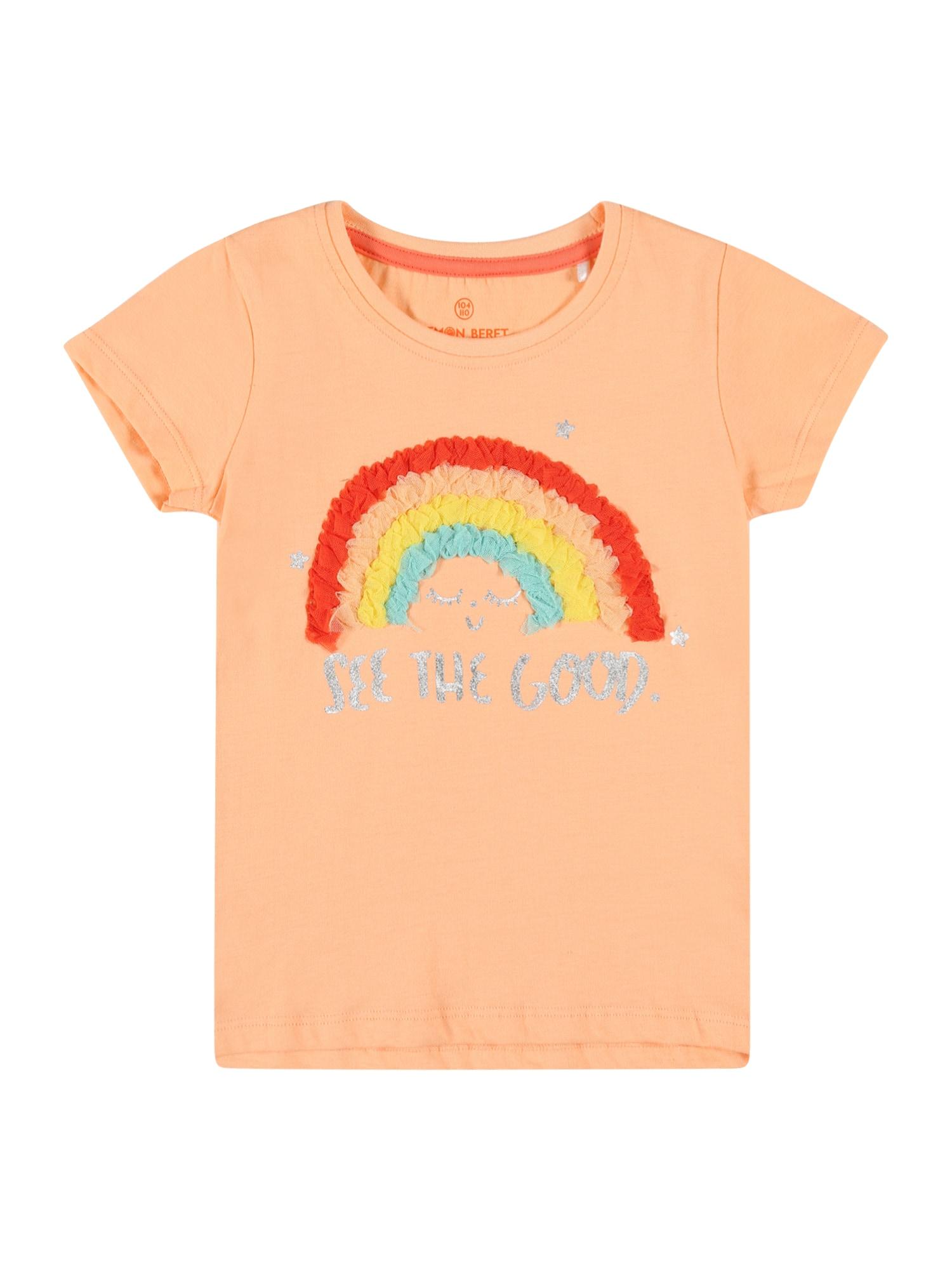 LEMON BERET Tričko  jasně oranžová