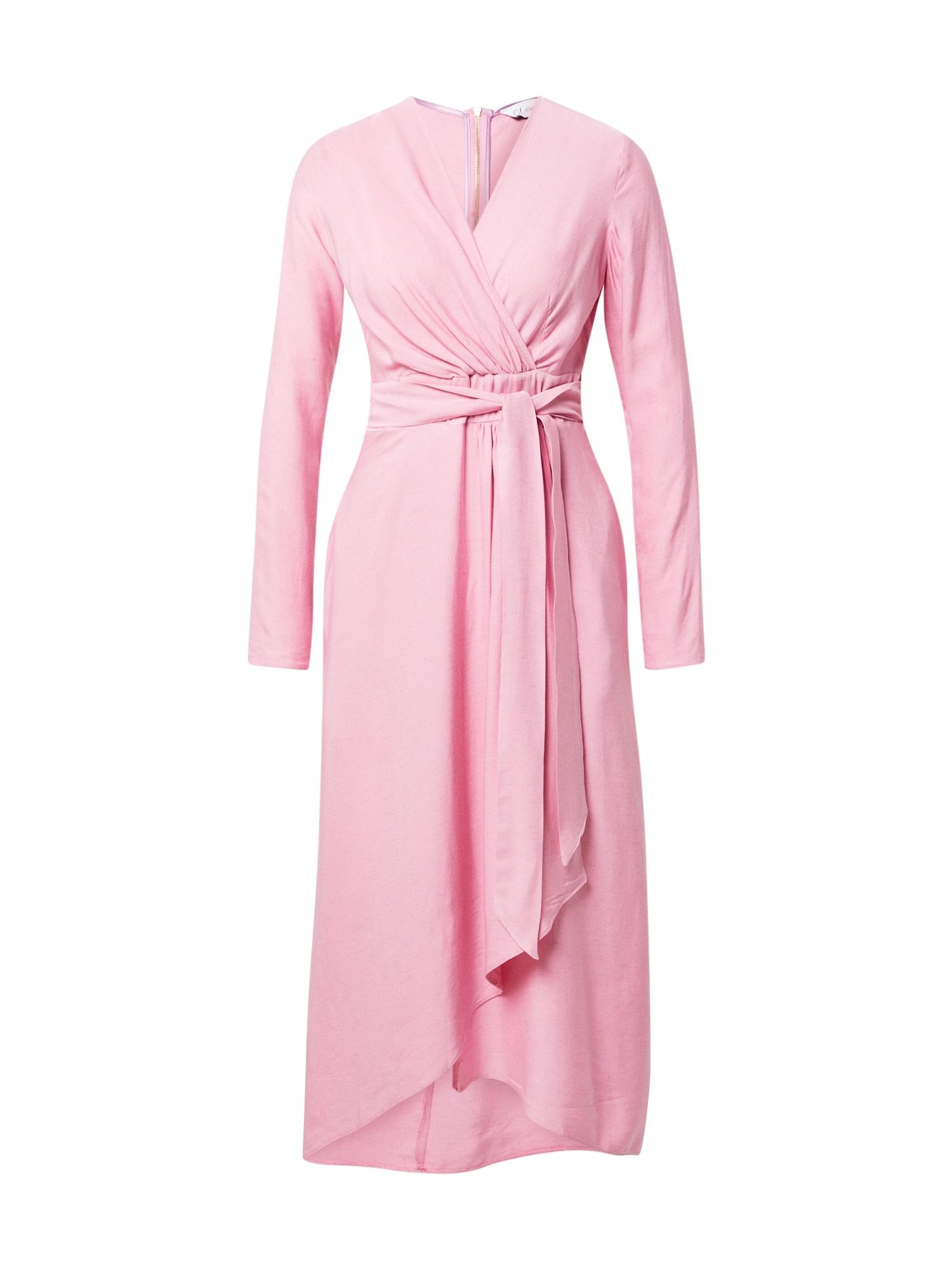 Closet London Kokteilinė suknelė šviesiai rožinė