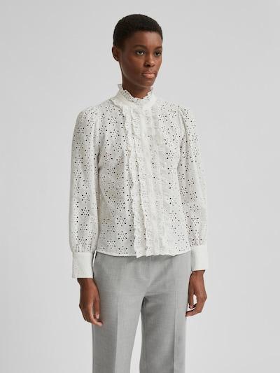 Selected Femme Withney Hemd mit vorderseitigen Rüschen