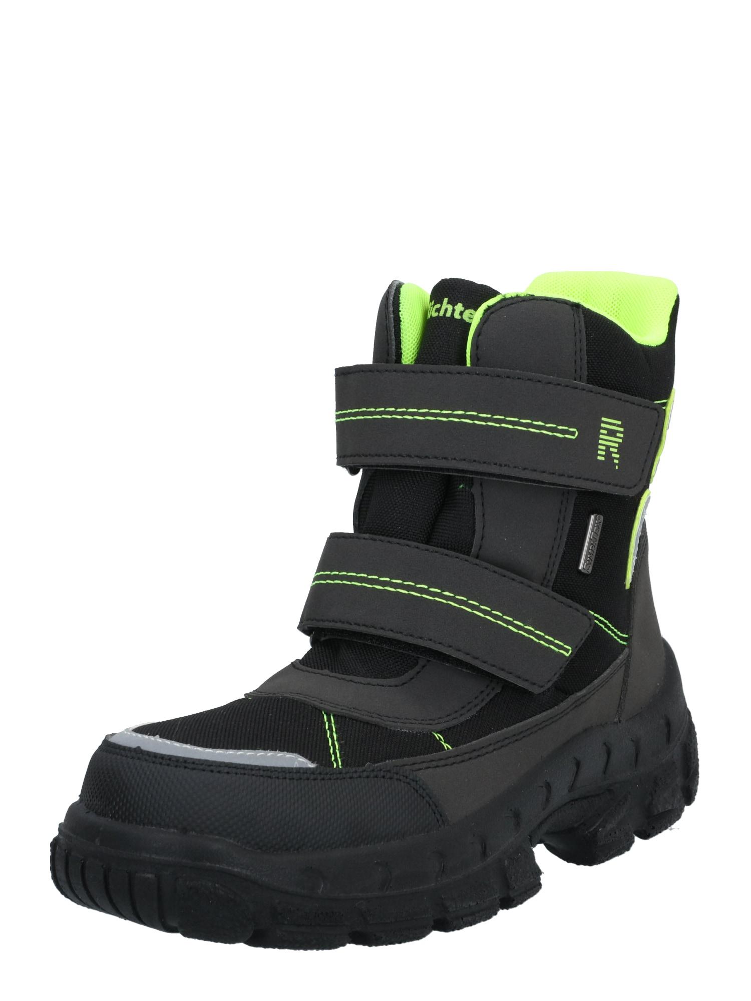 RICHTER Sniego batai neoninė geltona / juoda