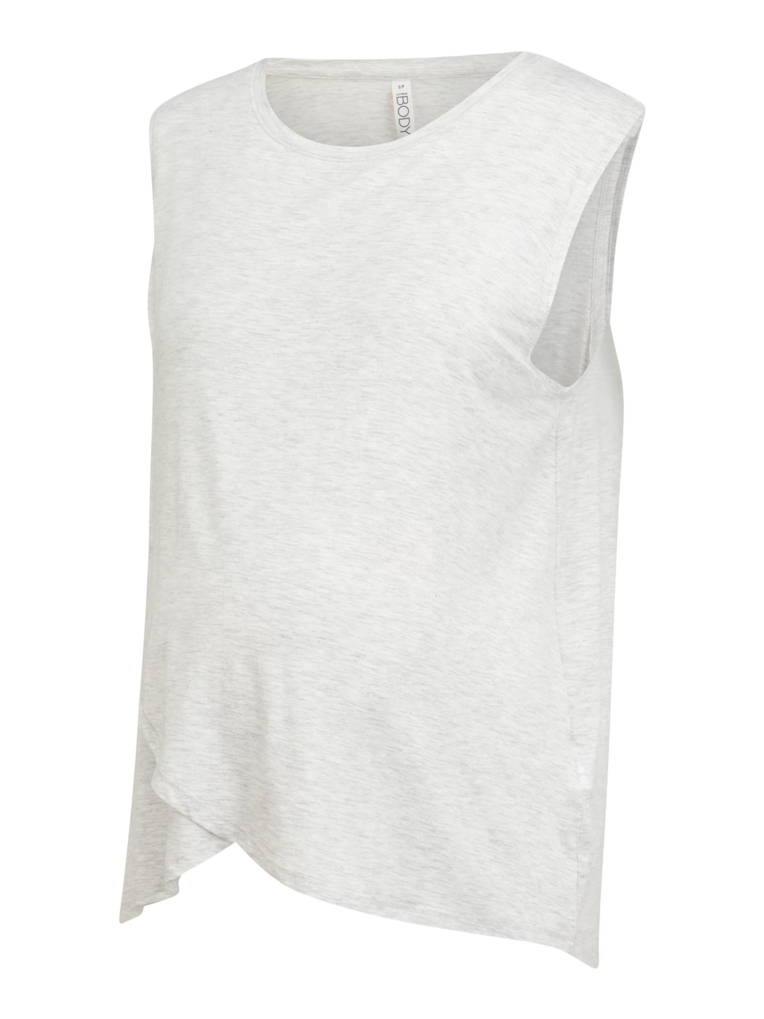 Cotton On Body Palaidinė be rankovių šviesiai pilka