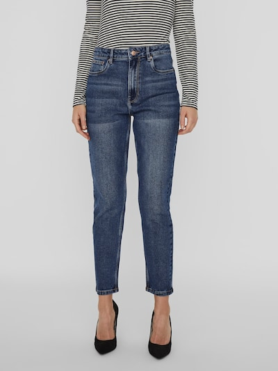 Vero Moda Joana Stretch-Mom-Jeans mit hoher Taille