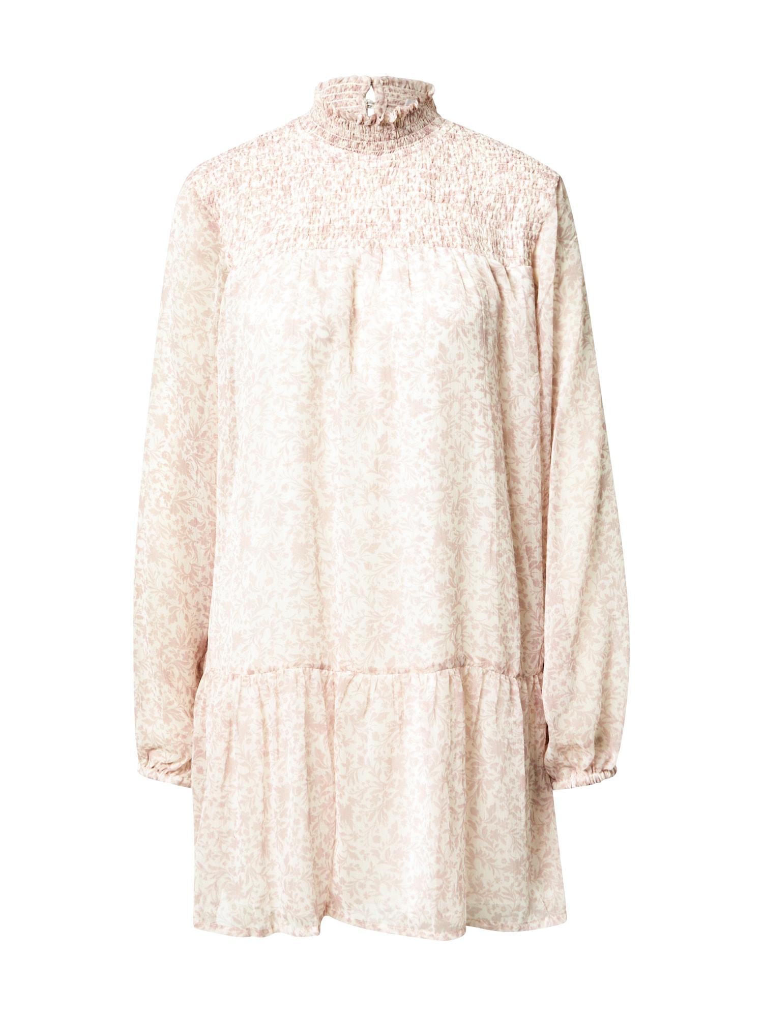 Cotton On Šaty  fialová / bílá