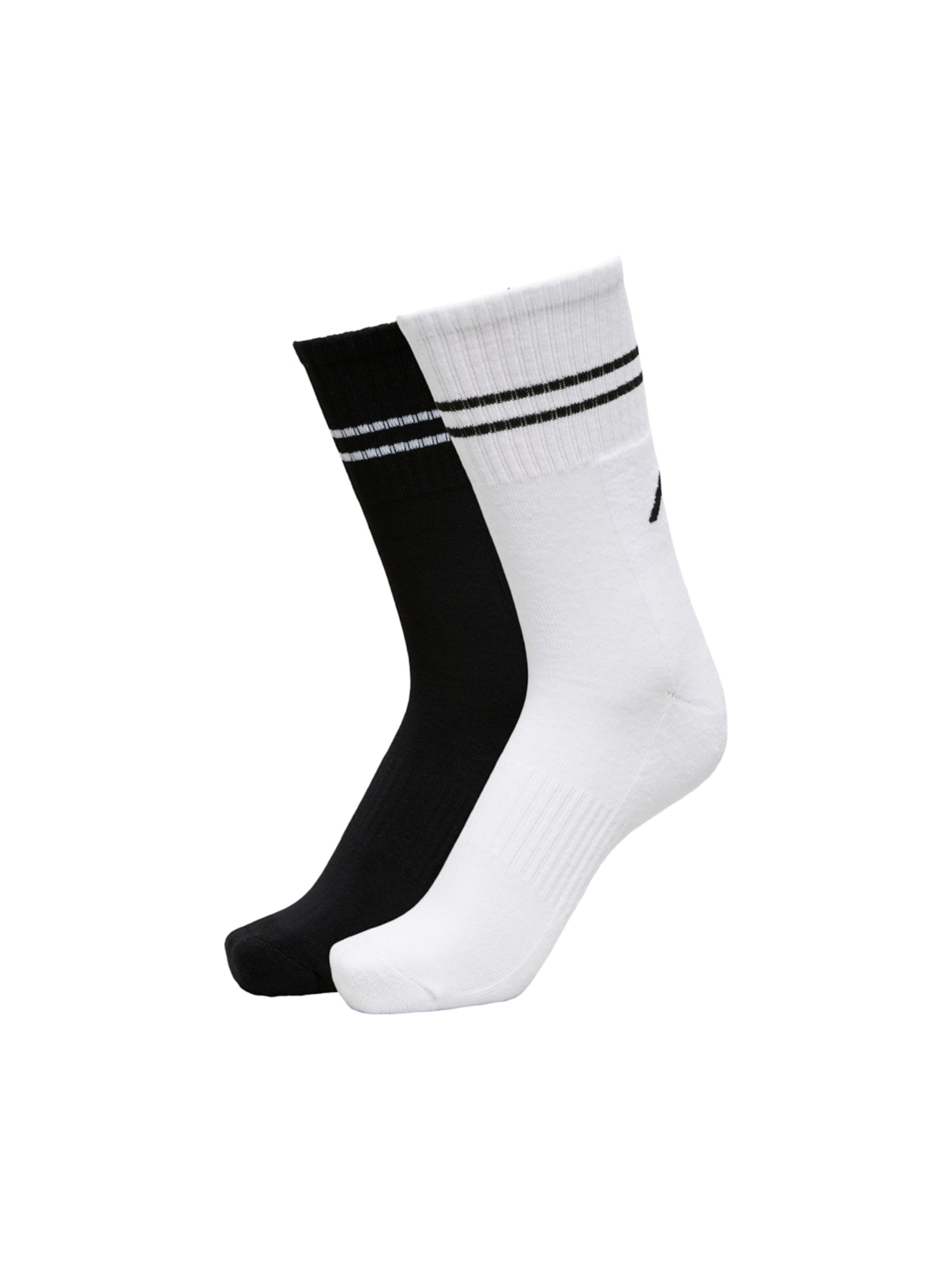 SELECTED HOMME Sportinės kojinės juoda / balta