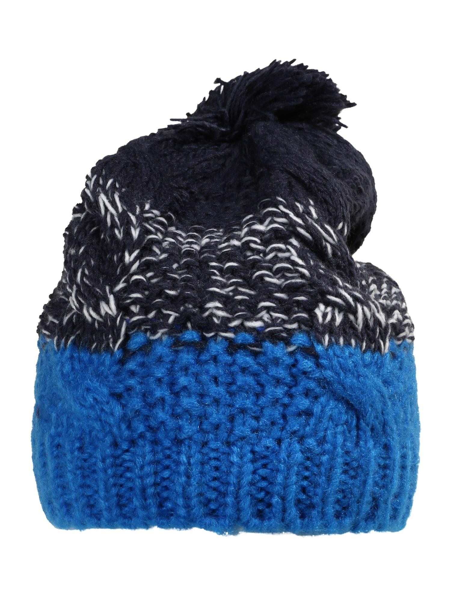 "4F Sportinė kepurė sodri mėlyna (""karališka"") / ultramarino mėlyna (skaidri) / balta"