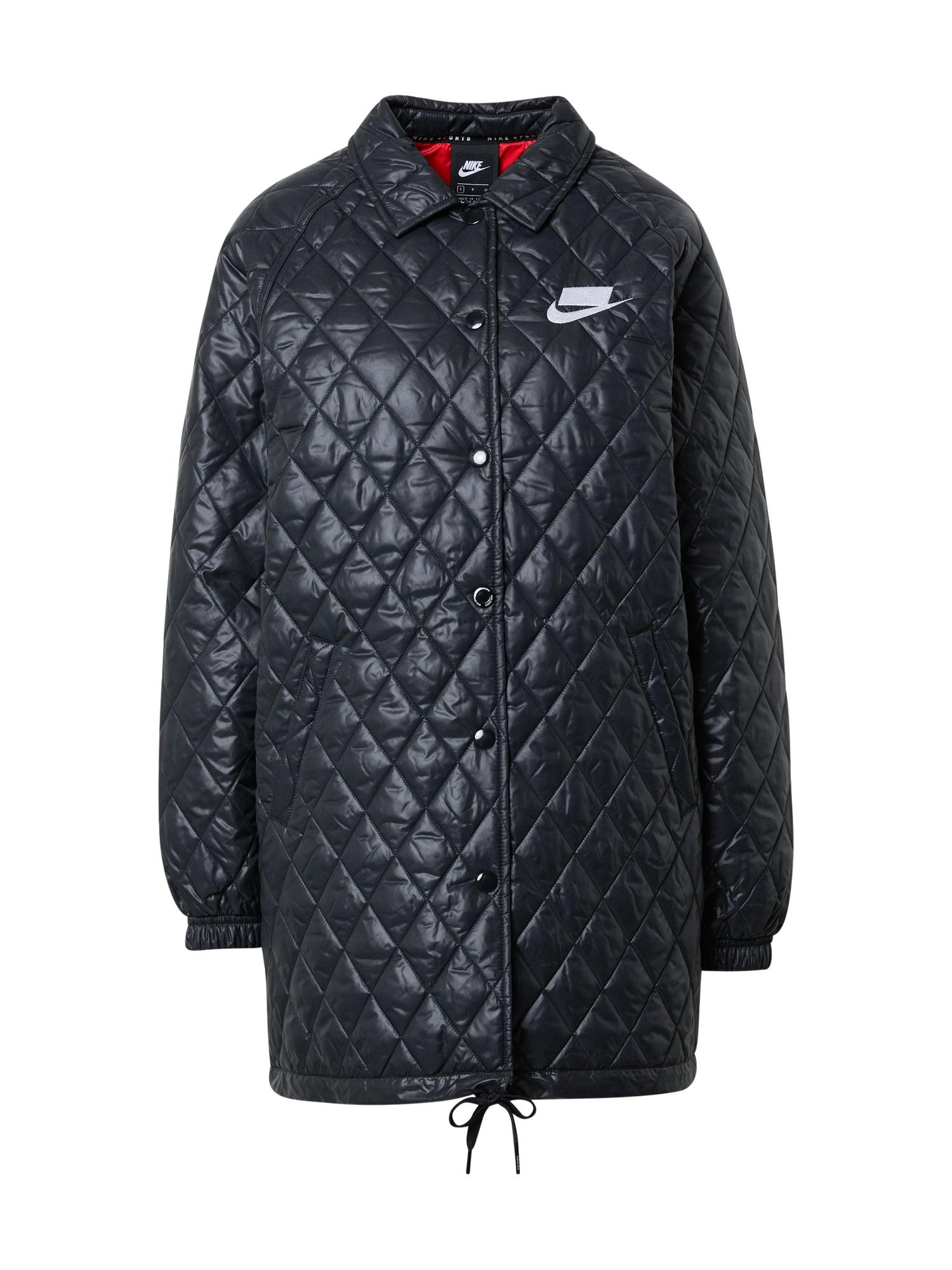 Nike Sportswear Demisezoninė striukė juoda