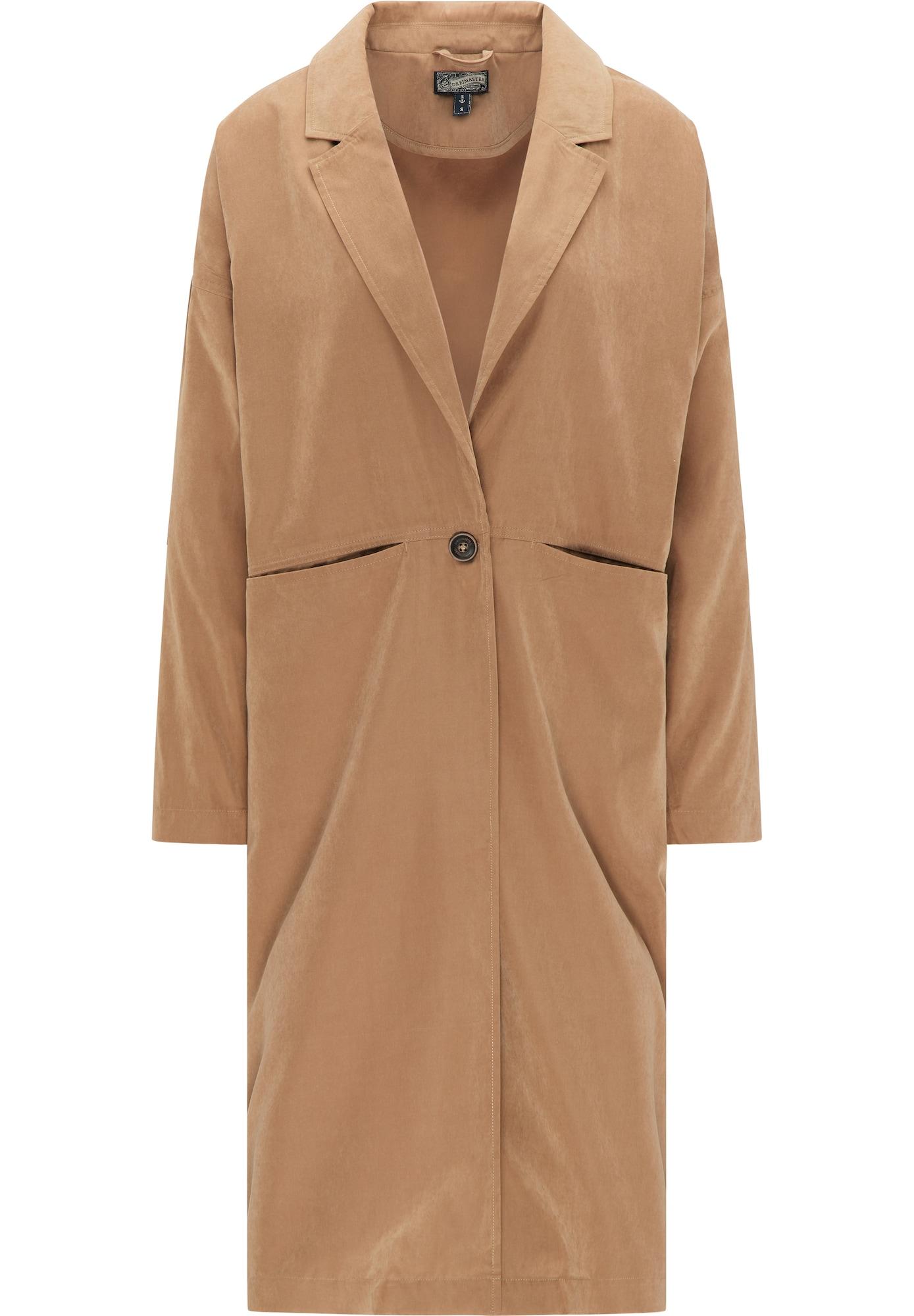 DreiMaster Vintage Vasarinis paltas gelsvai pilka spalva