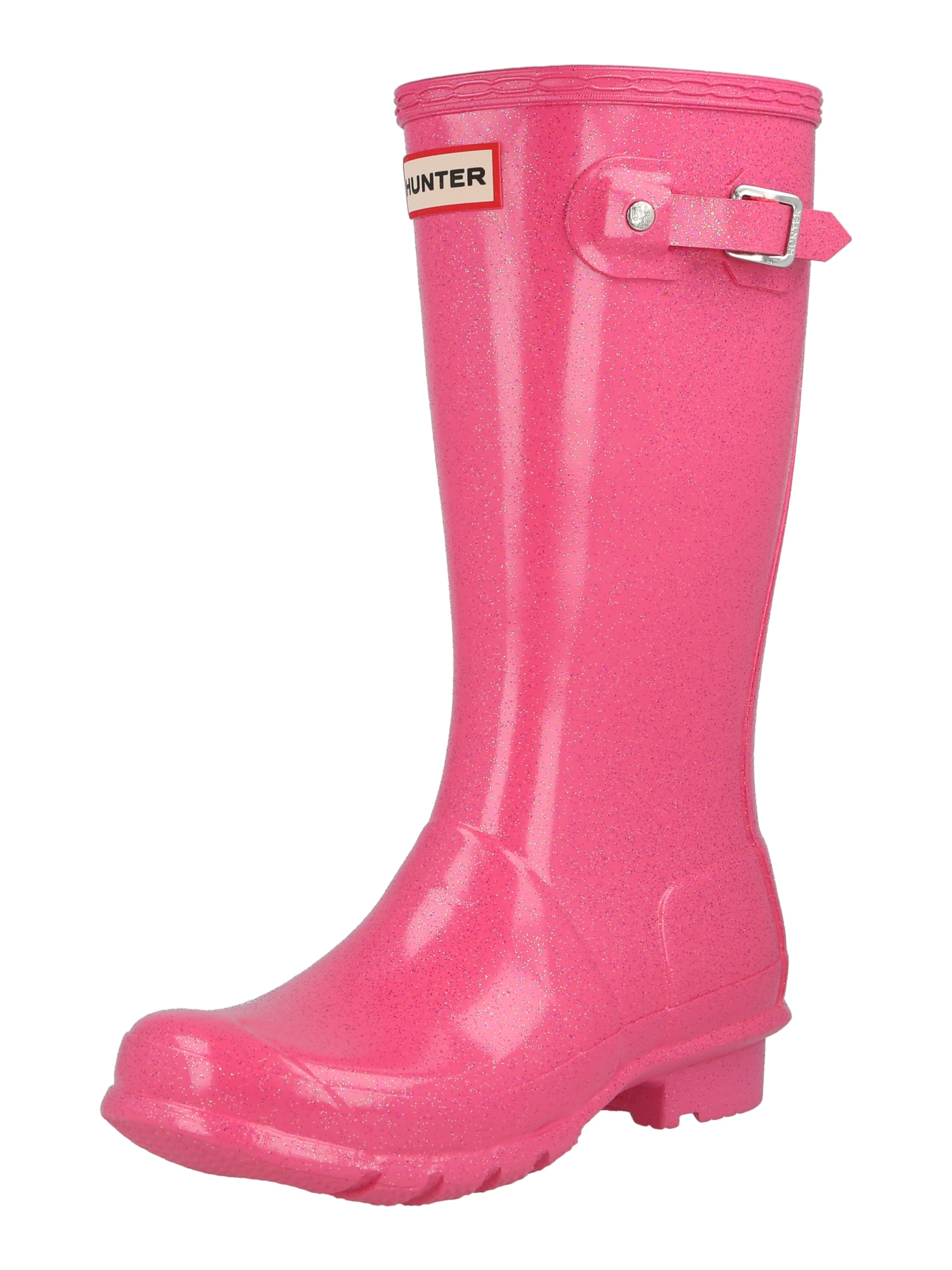 HUNTER Guminiai batai rožinė