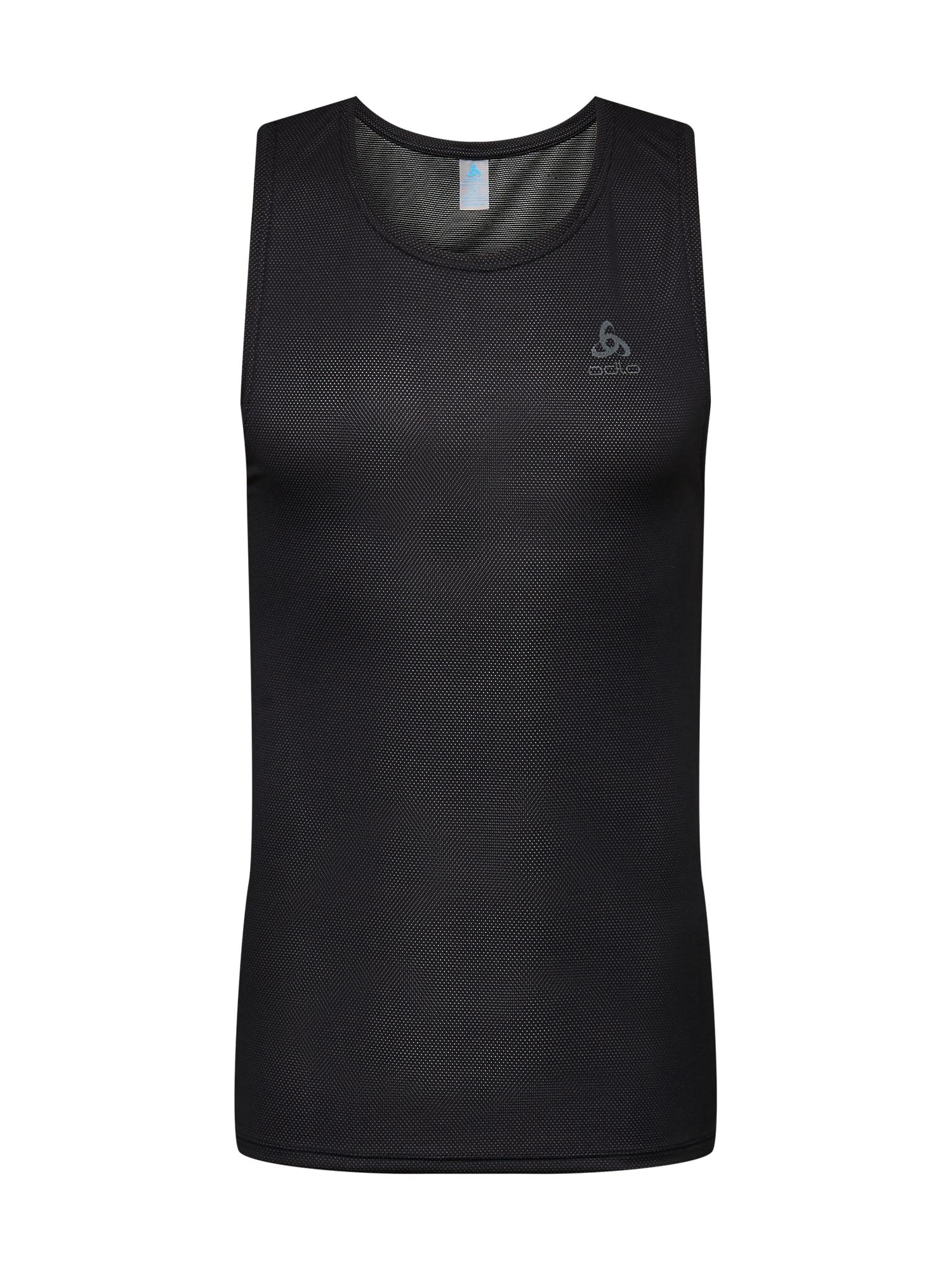 ODLO Sportiniai marškinėliai juoda