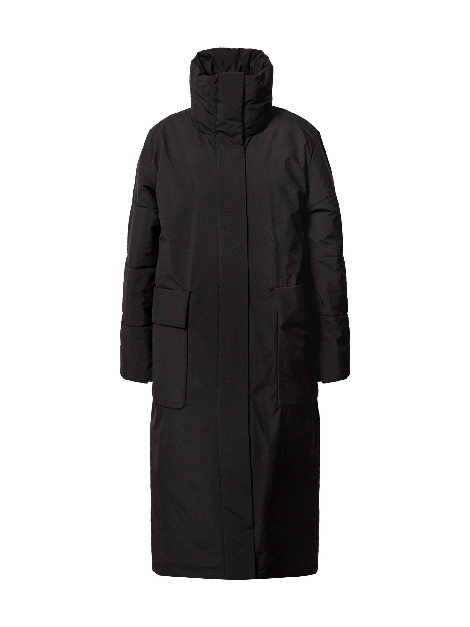 elvine Demisezoninis paltas juoda