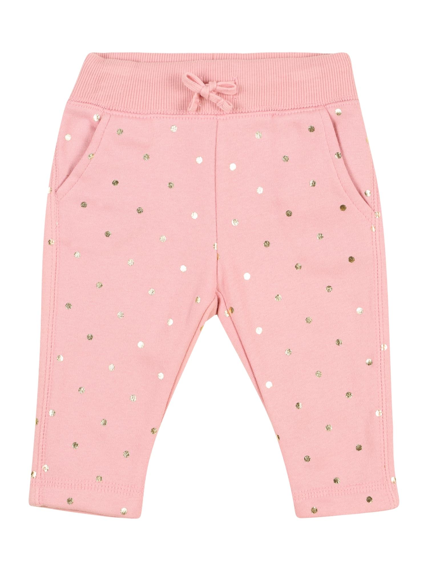 OshKosh Kelnės ryškiai rožinė spalva / geltona
