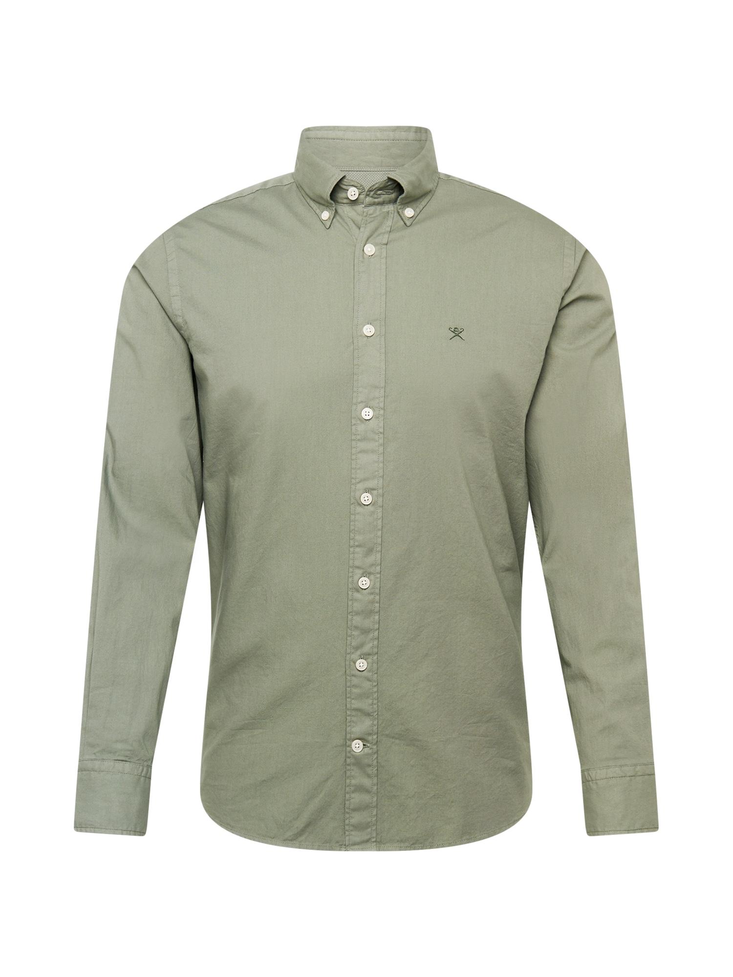 Hackett London Marškiniai alyvuogių spalva