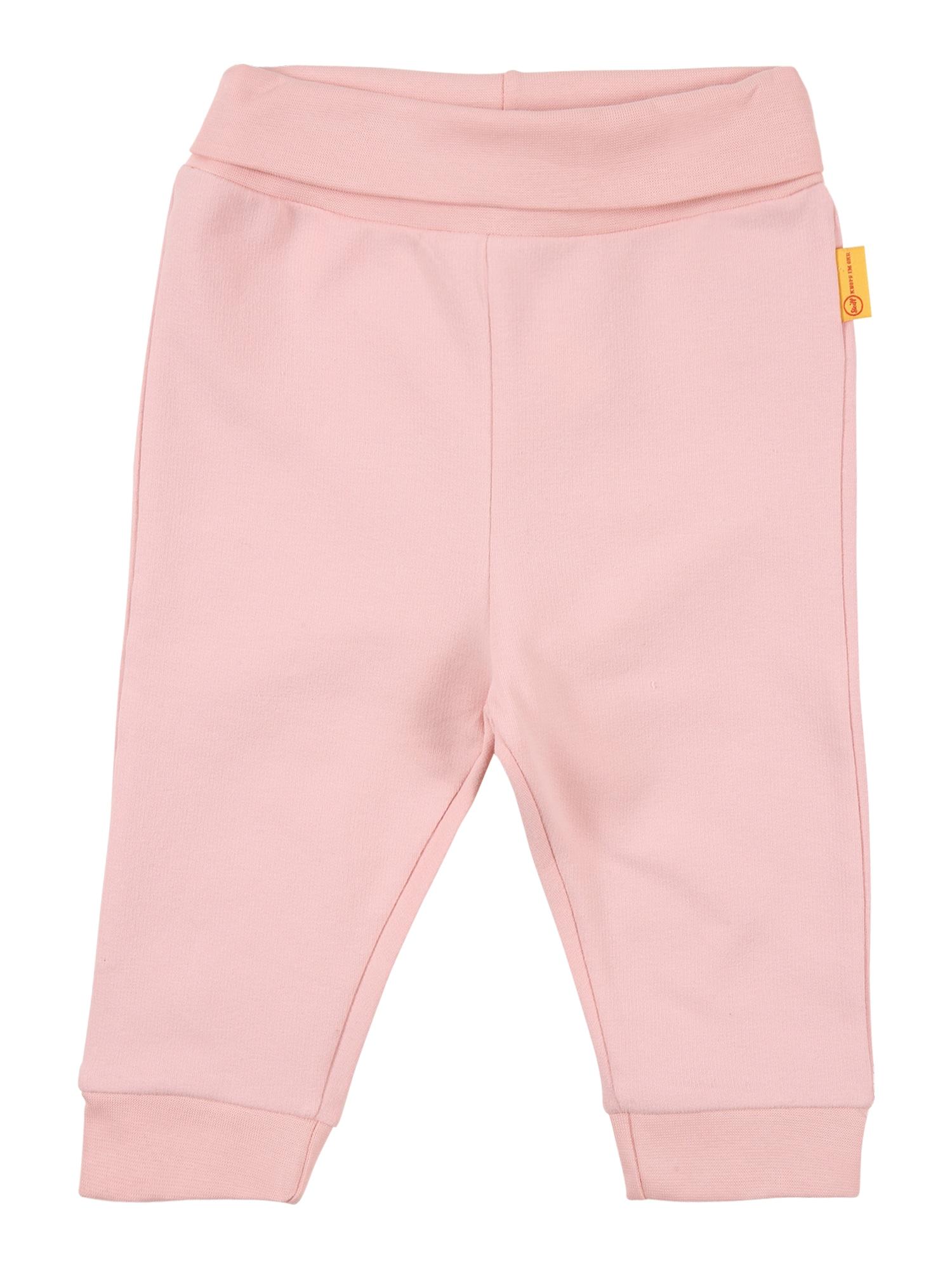 Steiff Collection Kelnės ryškiai rožinė spalva / gelsvai pilka spalva / tamsiai ruda