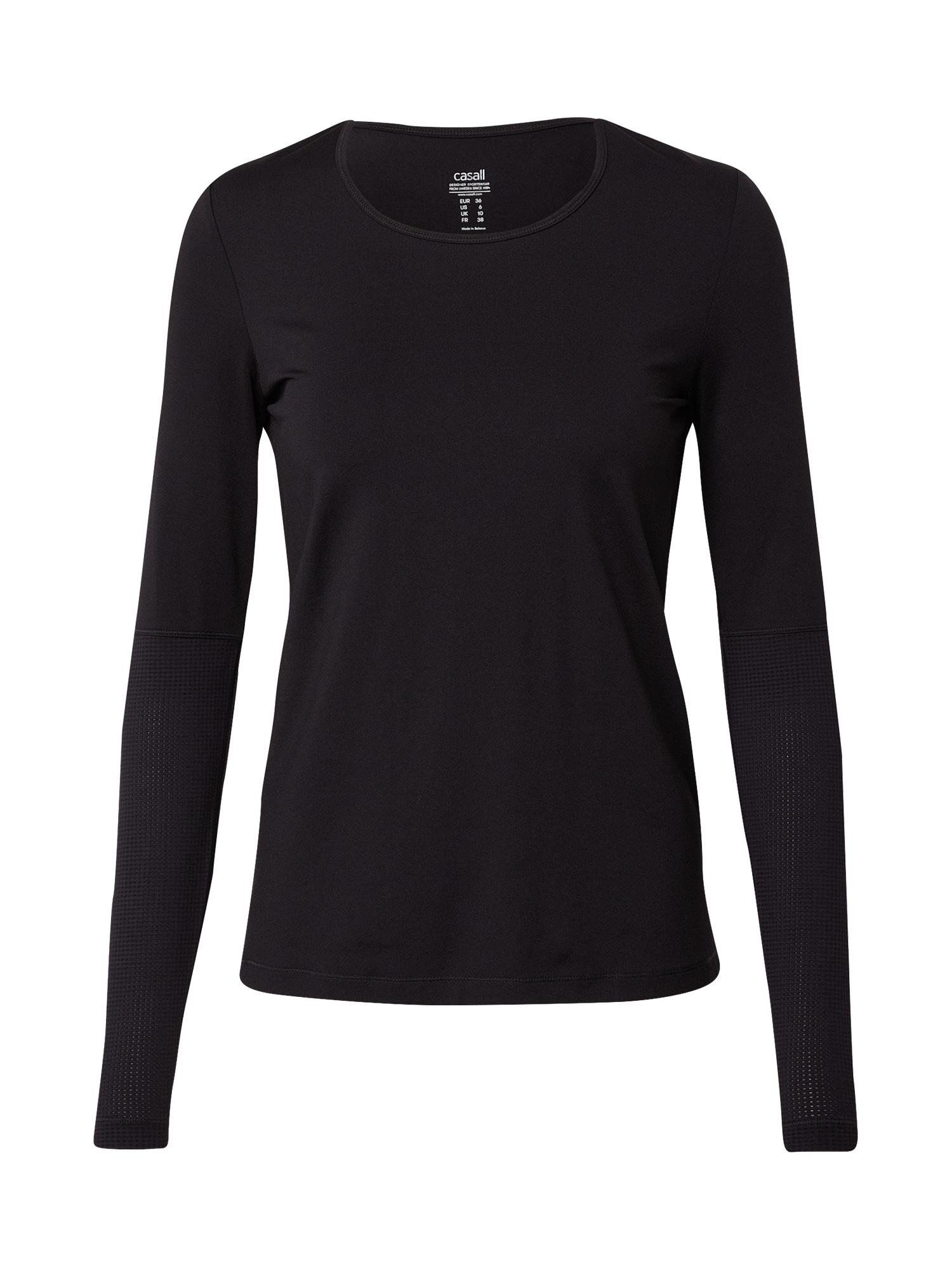 Casall Sportiniai marškinėliai juoda