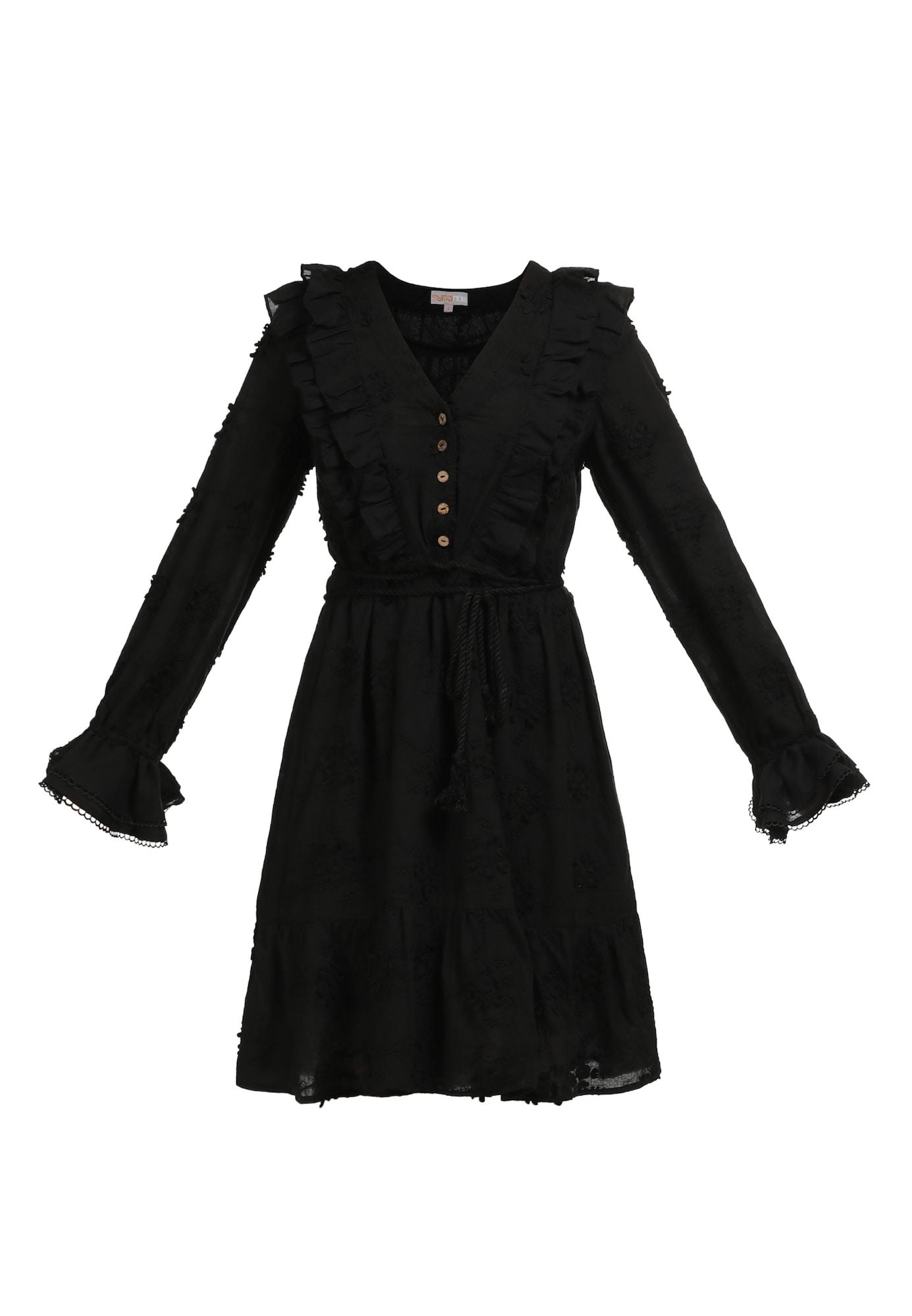 myMo NOW Vasarinė suknelė juoda