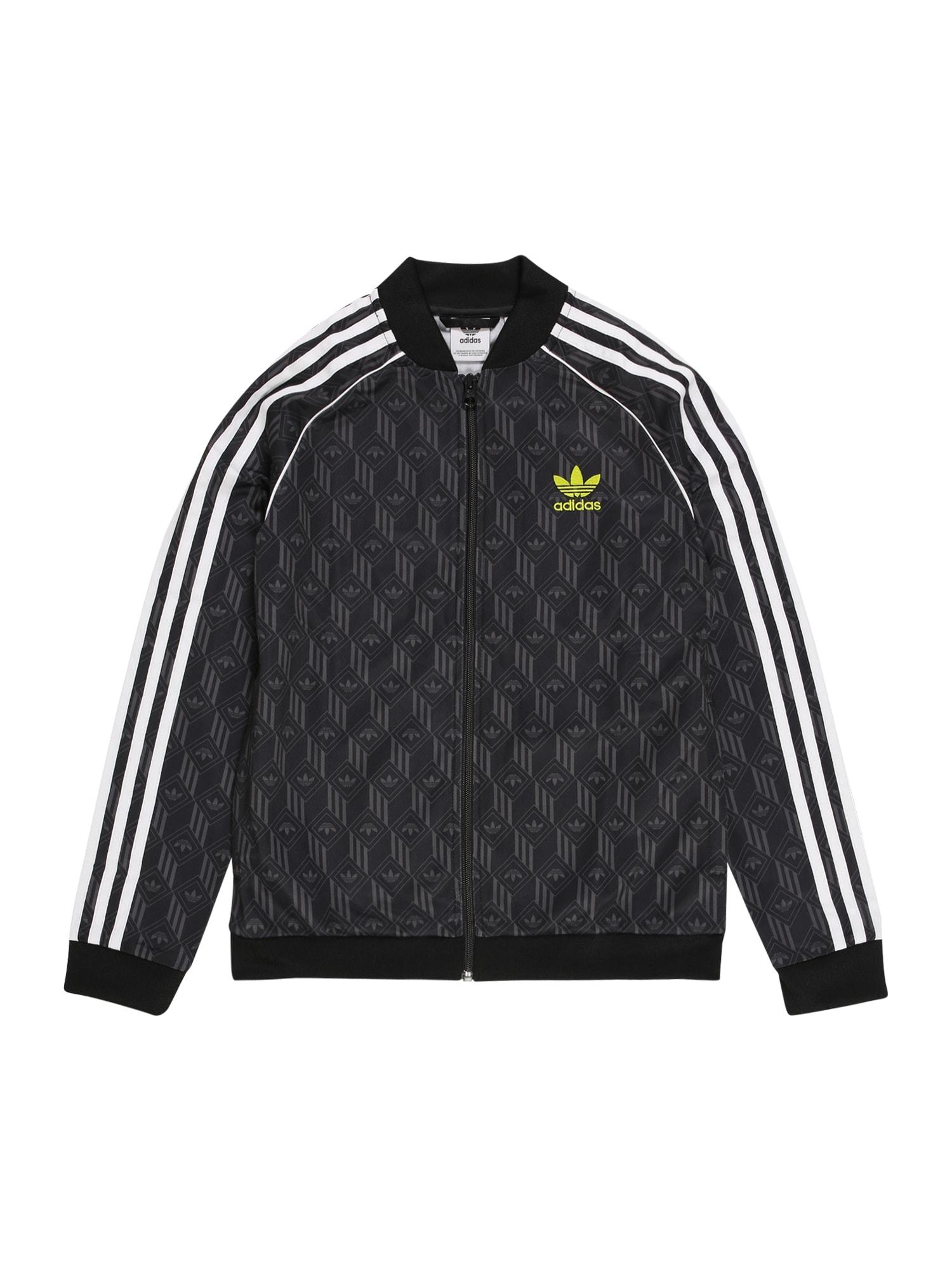 ADIDAS ORIGINALS Džemperis žalia / balta / juoda