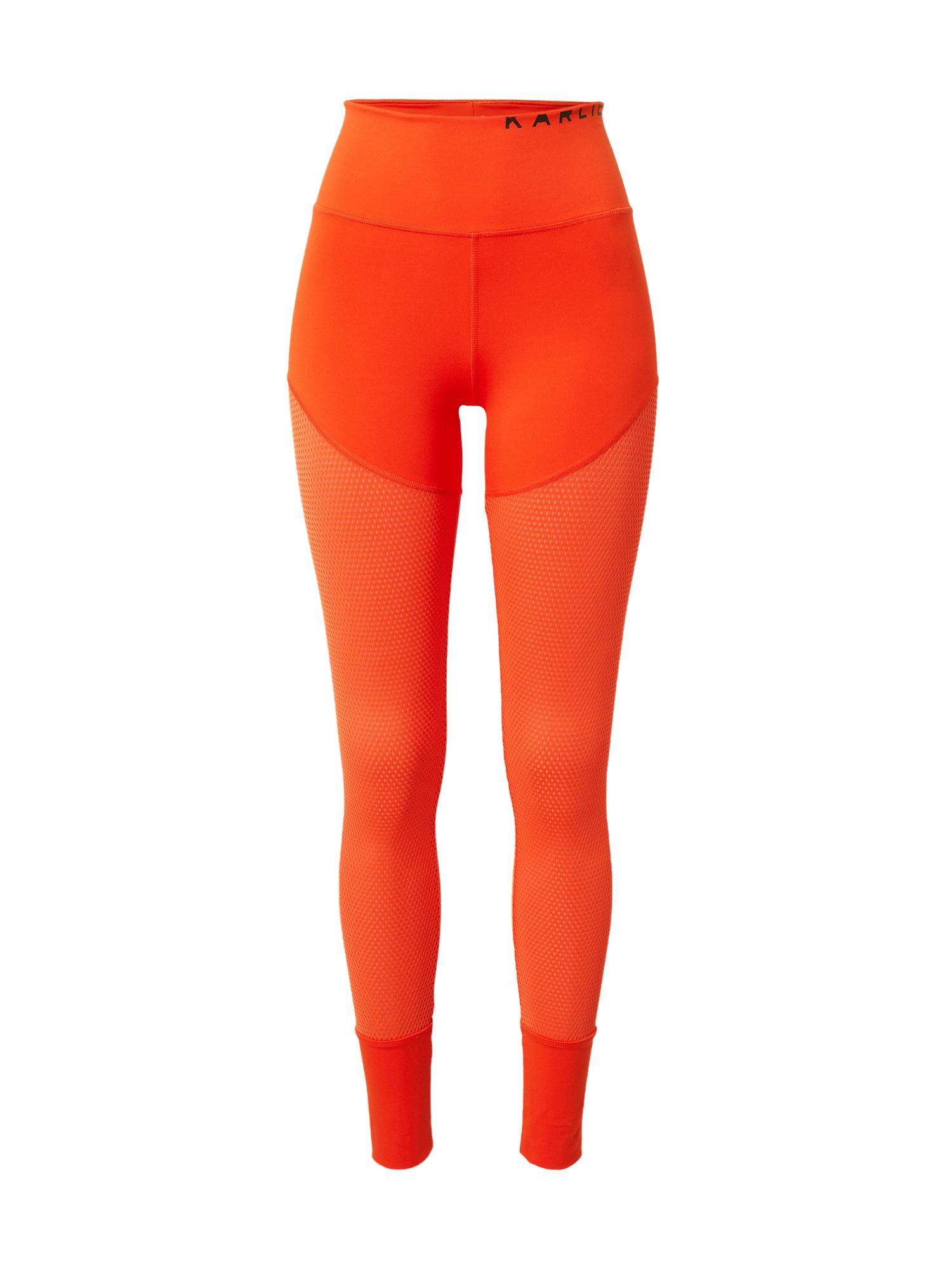 ADIDAS PERFORMANCE Sportinės kelnės oranžinė