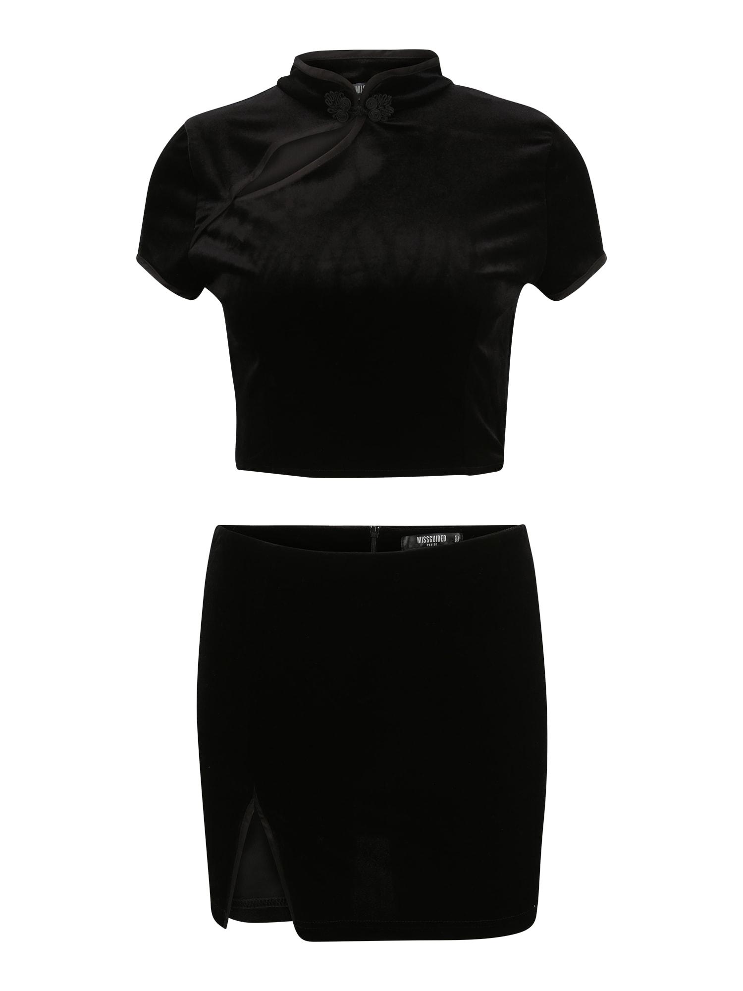 Missguided (Petite) Kostiumėlis juoda